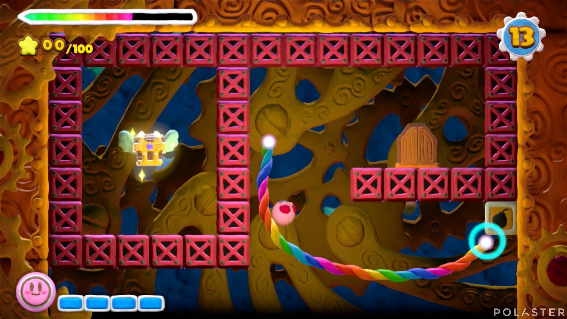 Kirby y el Pincel Arcoíris - Desafío 47: Cofre 2
