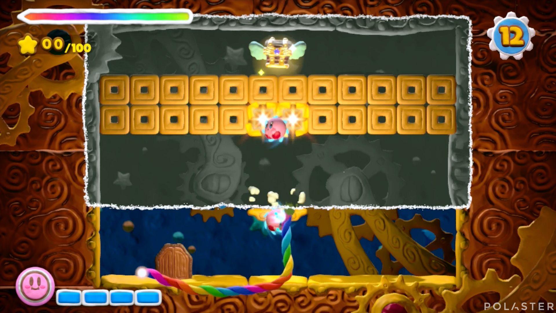 Kirby y el Pincel Arcoíris - Desafío 47: Cofre 3