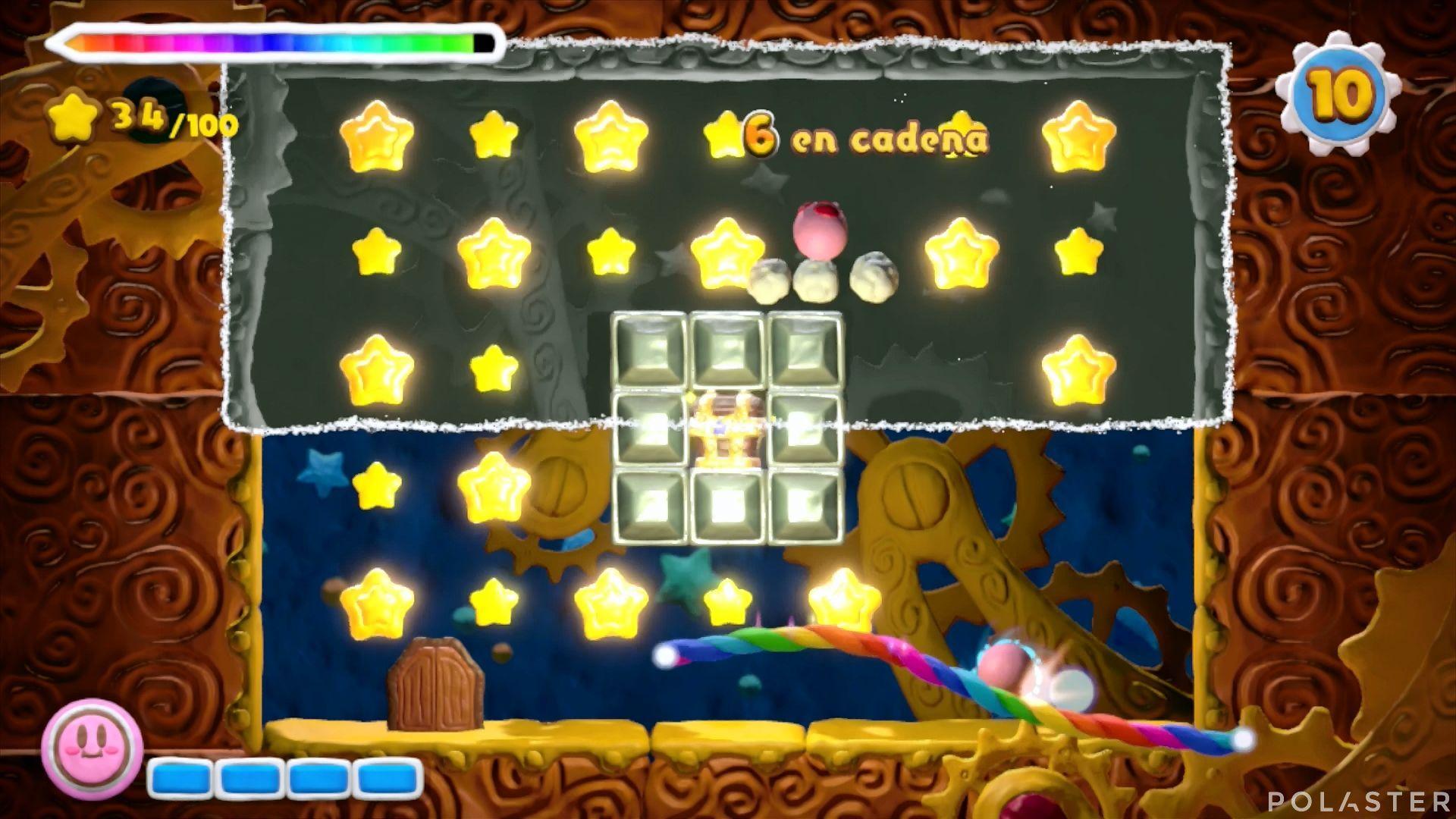 Kirby y el Pincel Arcoíris - Desafío 47: Cofre 4