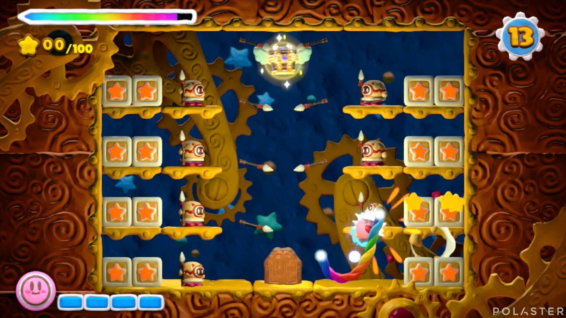 Kirby y el Pincel Arcoíris - Desafío 48: Cofre 1