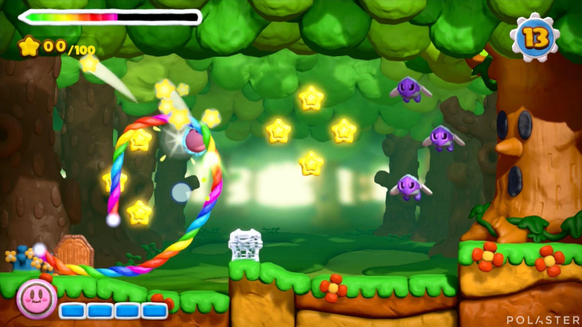 Kirby y el Pincel Arcoíris - Desafío 48: Cofre 10