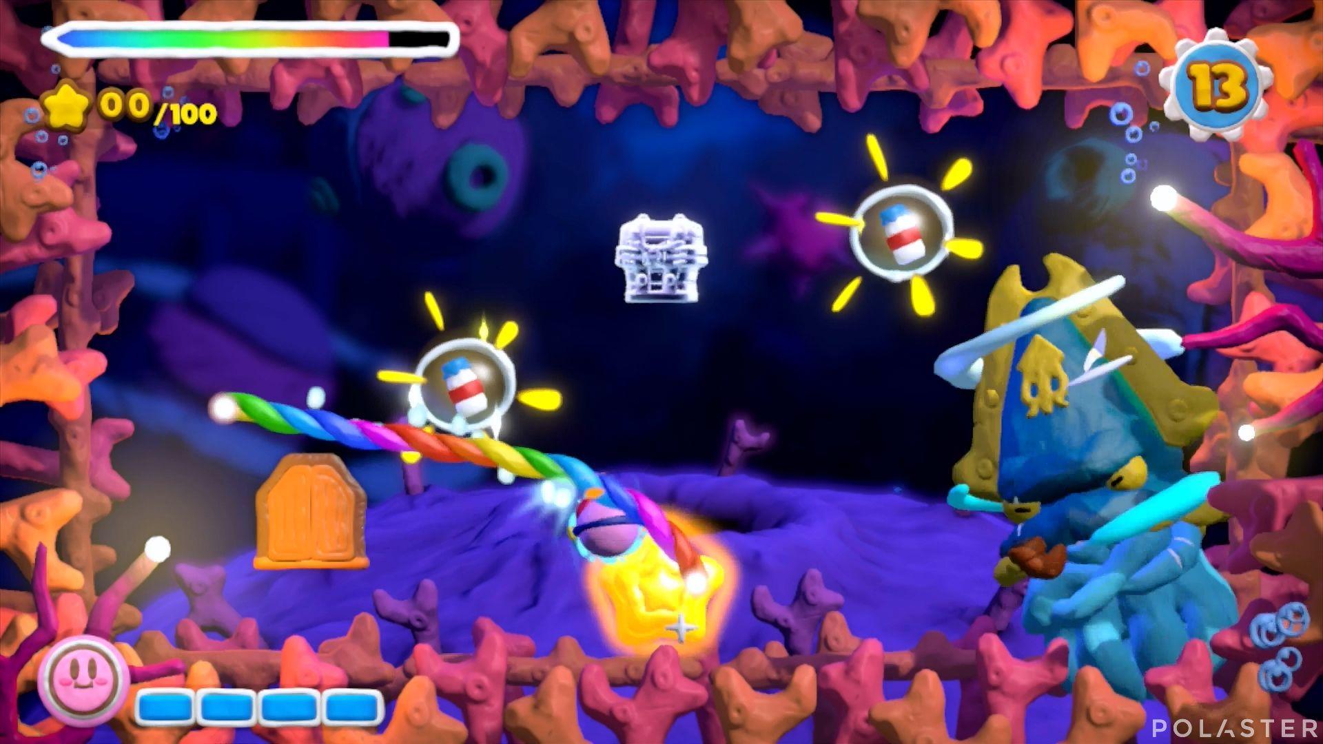 Kirby y el Pincel Arcoíris - Desafío 48: Cofre 11