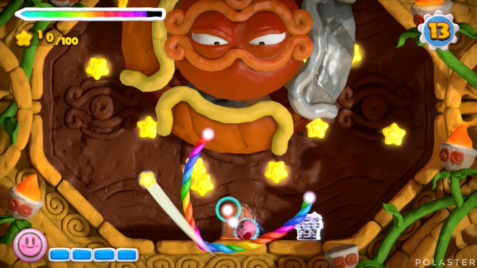 Kirby y el Pincel Arcoíris - Desafío 48: Cofre 12