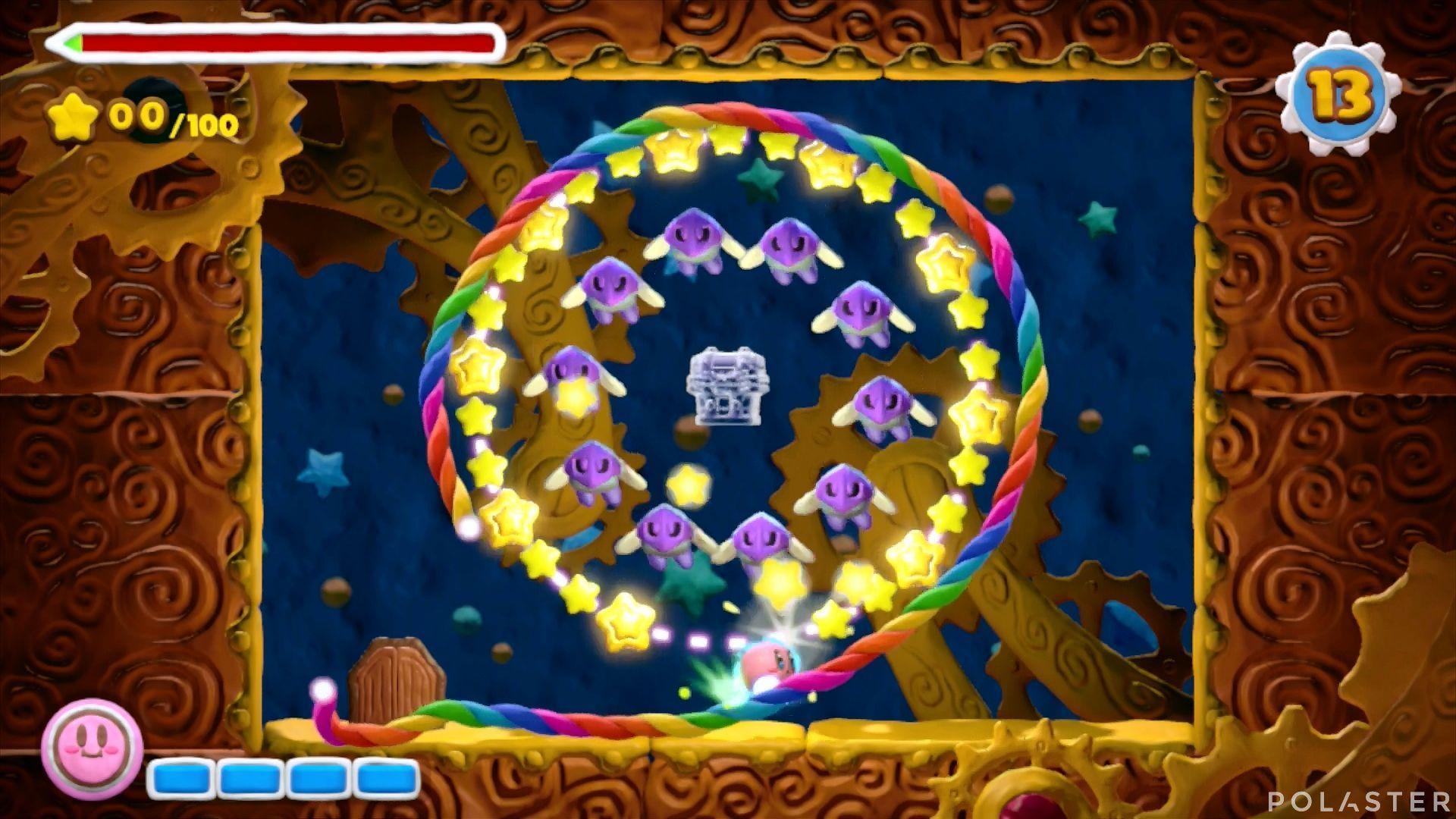 Kirby y el Pincel Arcoíris - Desafío 48: Cofre 2