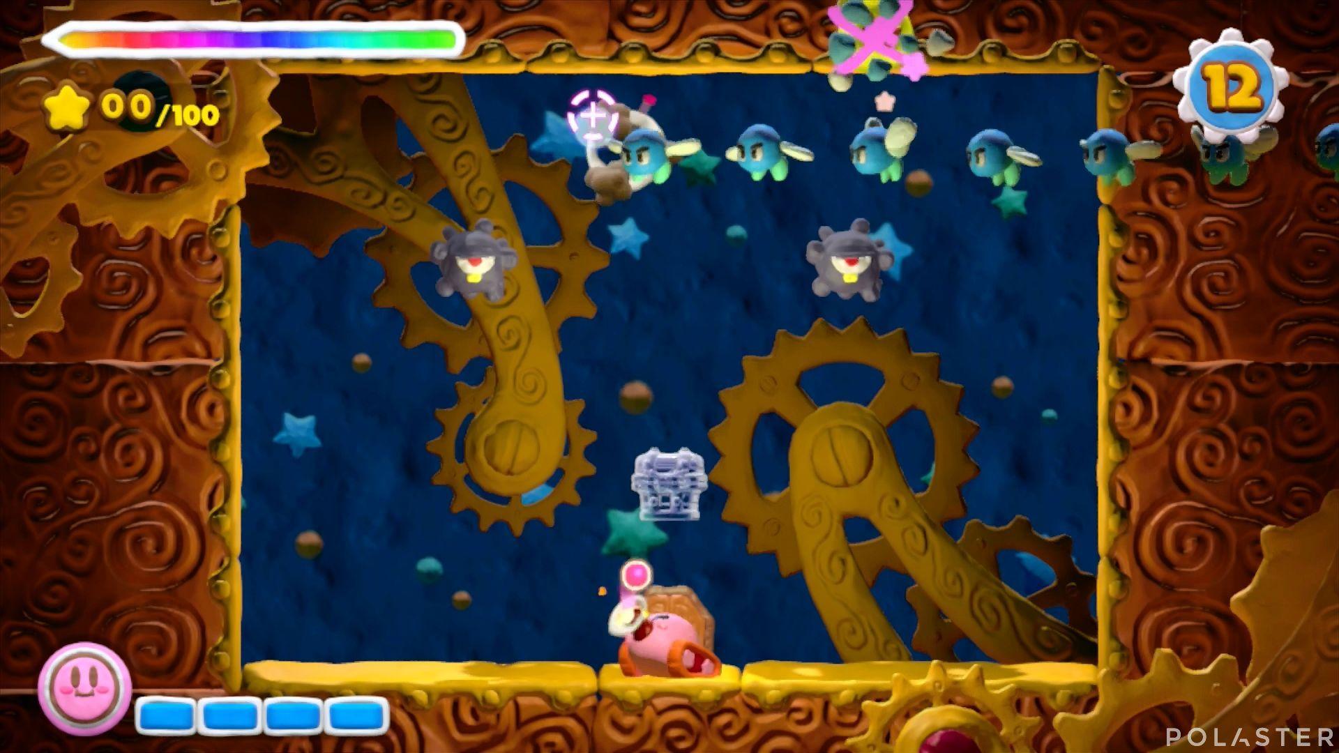 Kirby y el Pincel Arcoíris - Desafío 48: Cofre 3