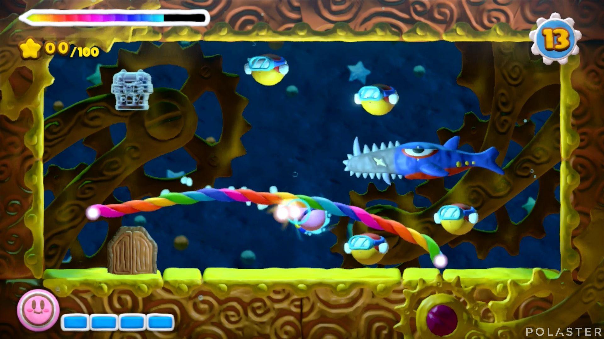 Kirby y el Pincel Arcoíris - Desafío 48: Cofre 4