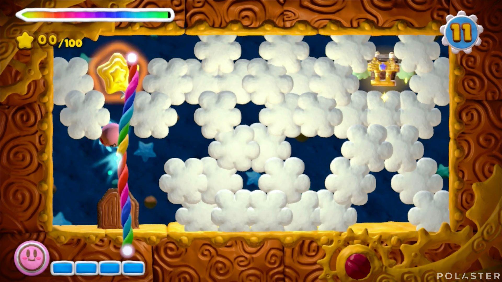 Kirby y el Pincel Arcoíris - Desafío 48: Cofre 7
