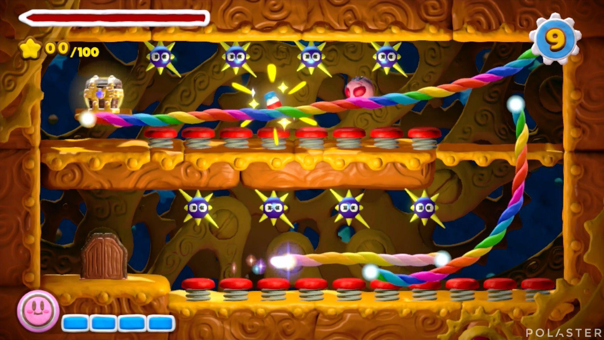 Kirby y el Pincel Arcoíris - Desafío 4 Cofre 3