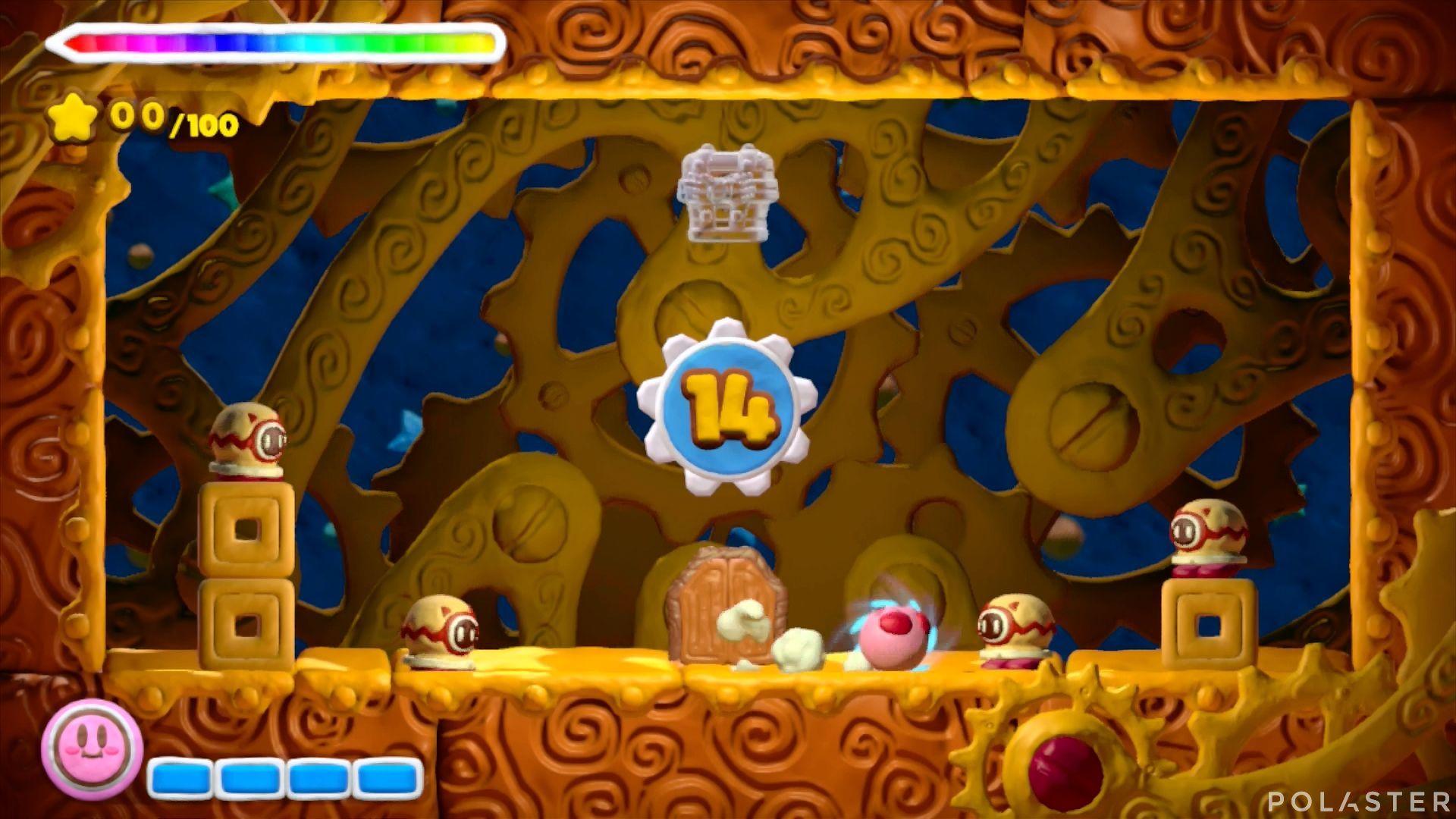 Kirby y el Pincel Arcoíris - Desafío 5 Cofre 1