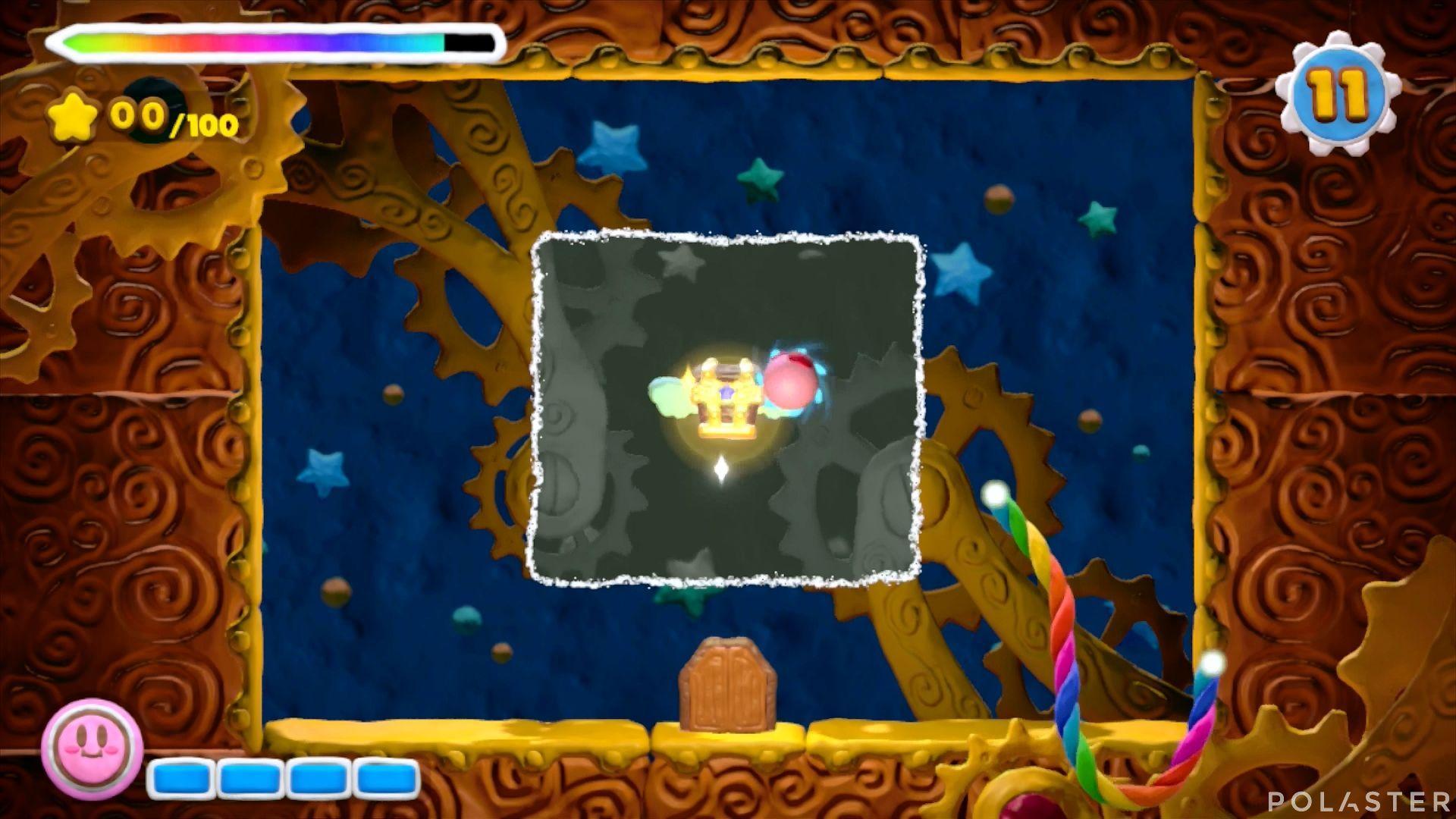 Kirby y el Pincel Arcoíris - Desafío 5 Cofre 2