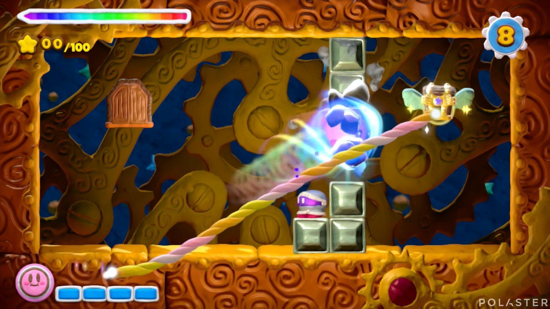 Kirby y el Pincel Arcoíris - Desafío 5 Cofre 4