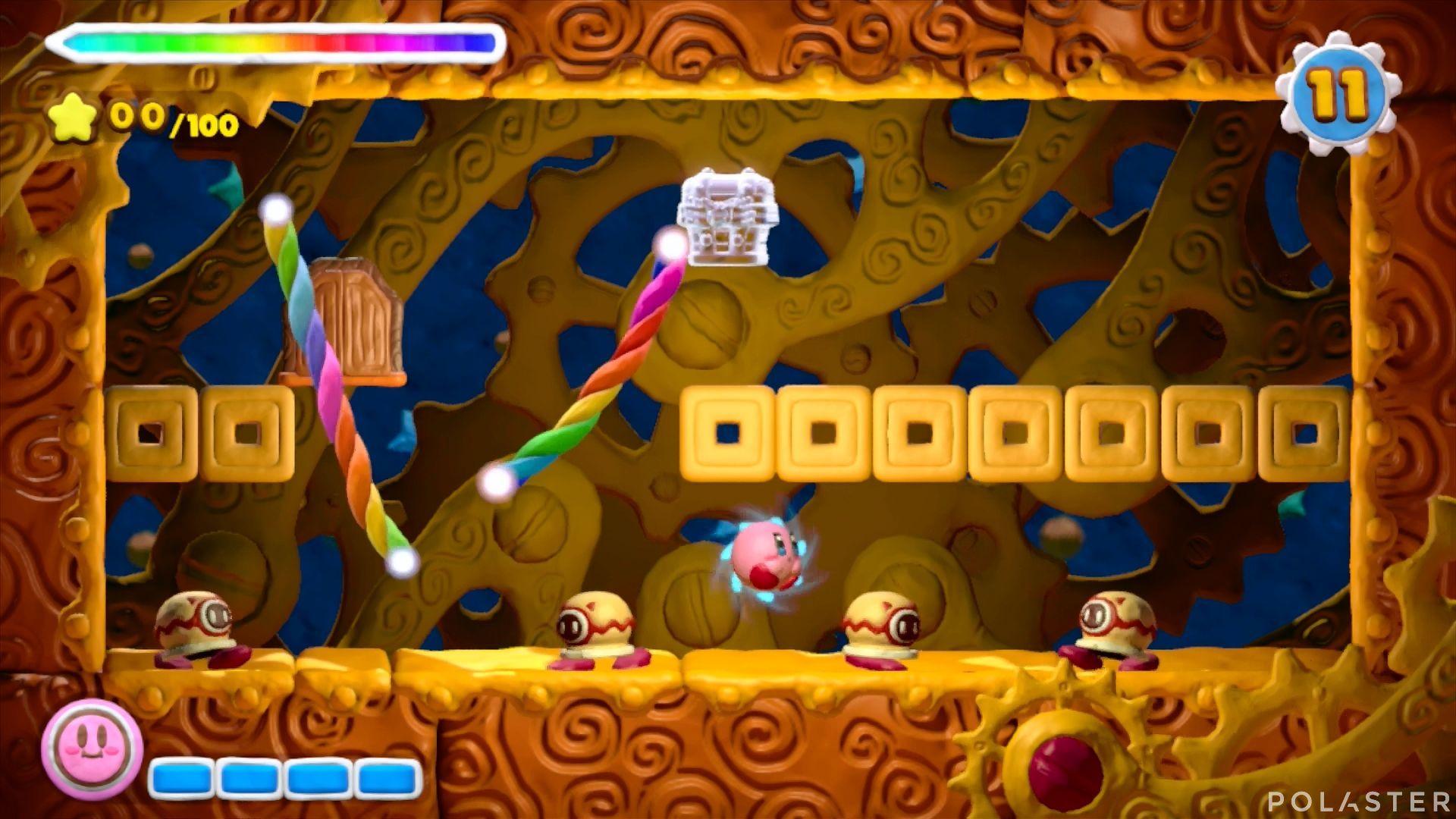 Kirby y el Pincel Arcoíris - Desafío 6 Cofre 1