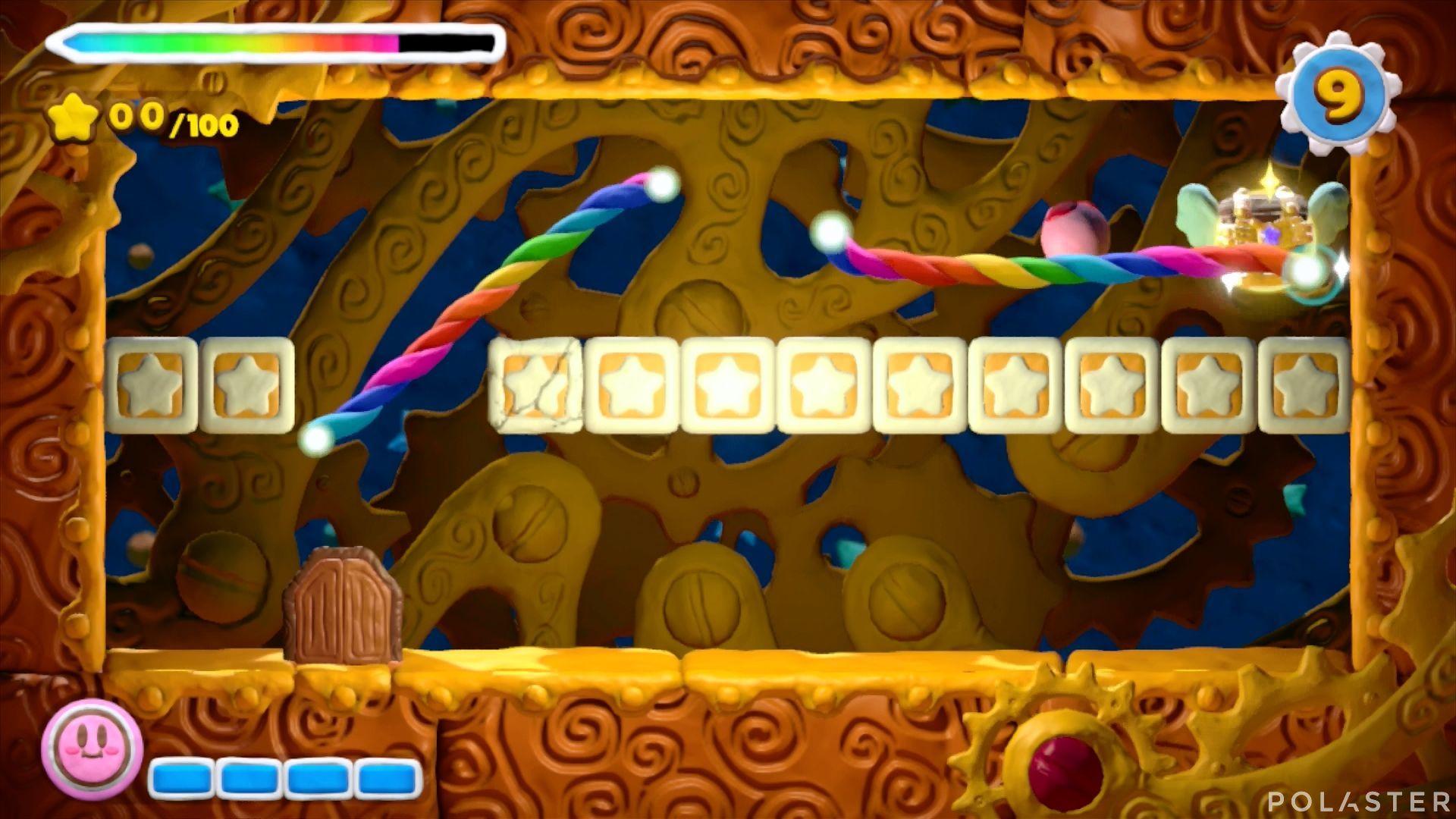 Kirby y el Pincel Arcoíris - Desafío 6 Cofre 2