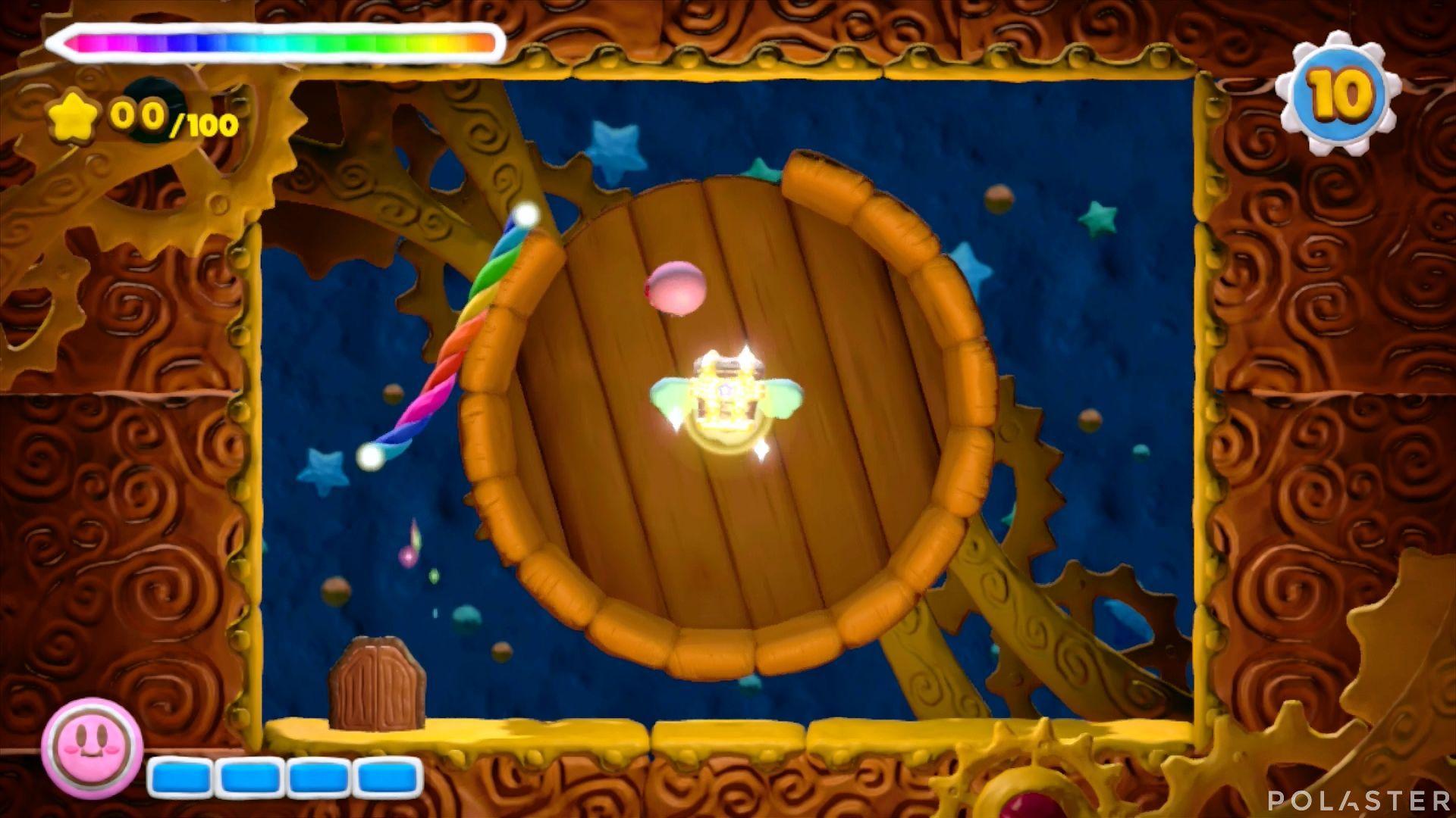 Kirby y el Pincel Arcoíris - Desafío 6 Cofre 3