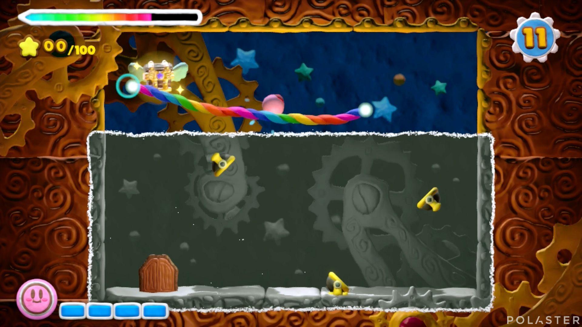 Kirby y el Pincel Arcoíris - Desafío 7 Cofre 1