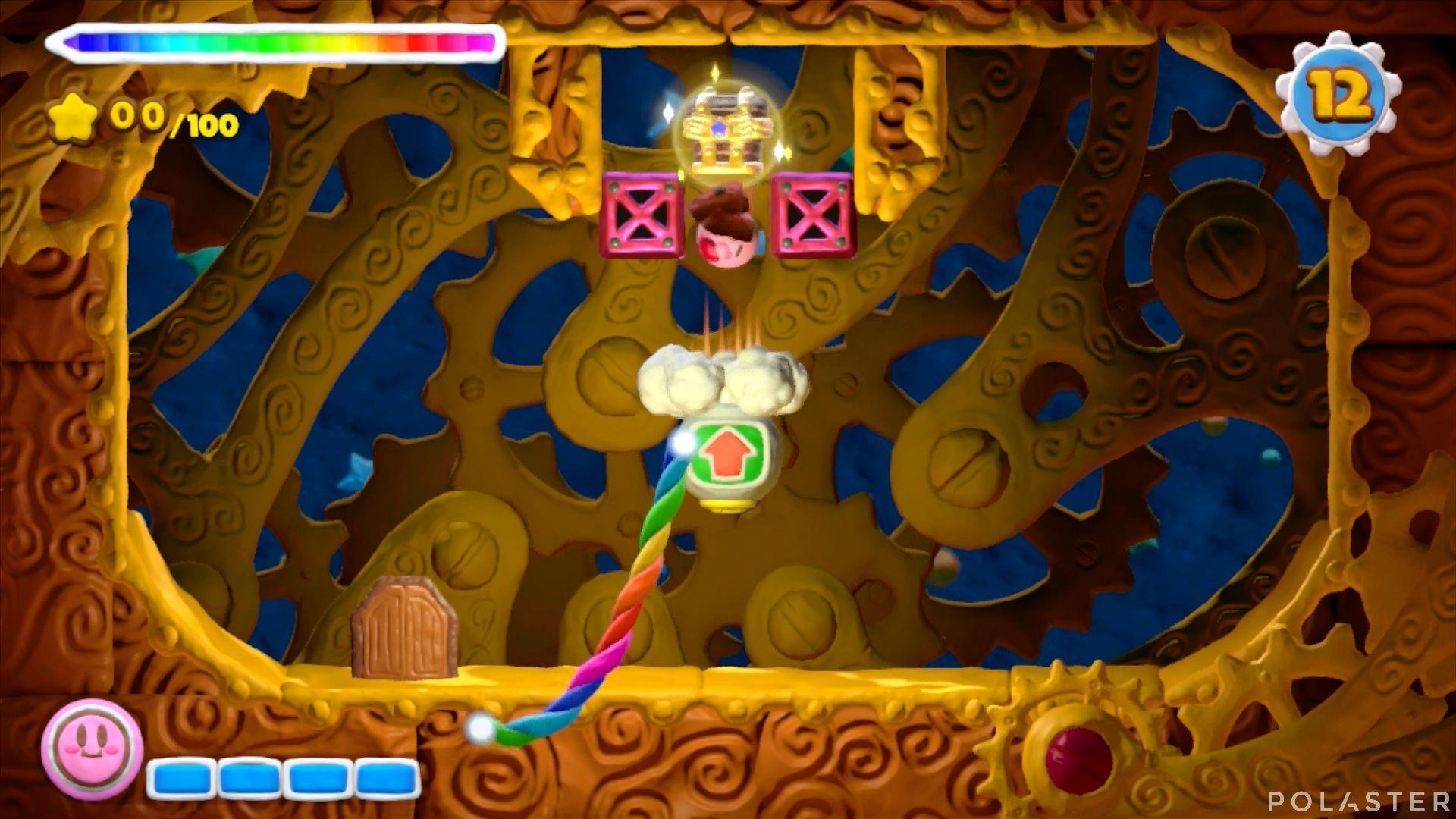 Kirby y el Pincel Arcoíris - Desafío 7 Cofre 3