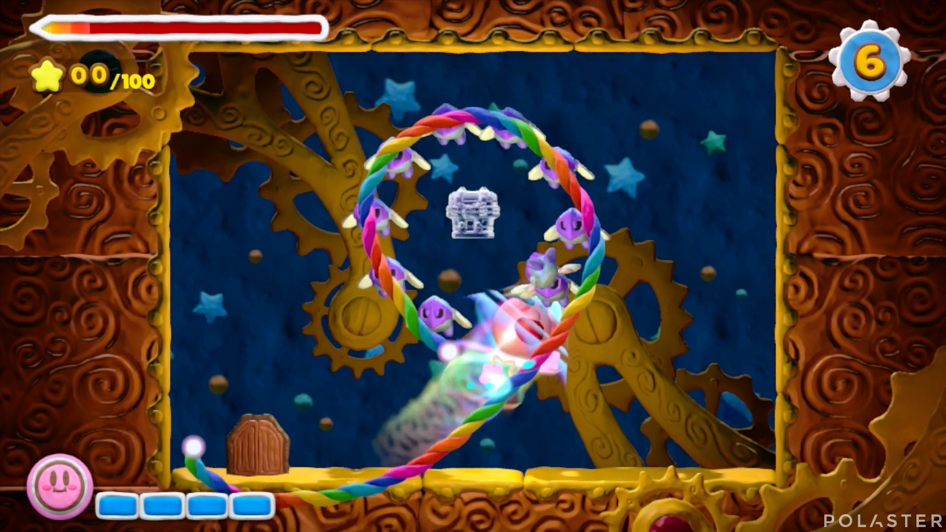 Kirby y el Pincel Arcoíris - Desafío 7 Cofre 4