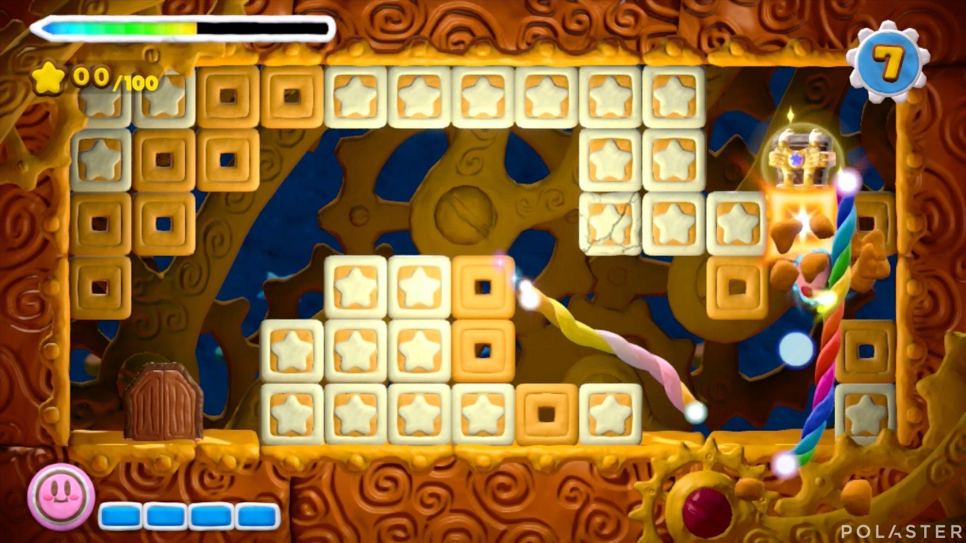 Kirby y el Pincel Arcoíris - Desafío 9 Cofre 1