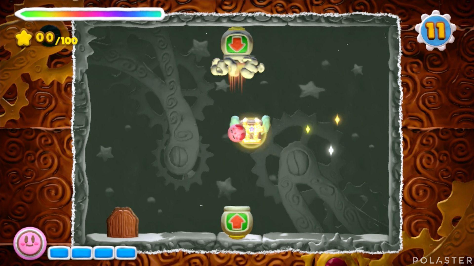 Kirby y el Pincel Arcoíris - Desafío 9 Cofre 2