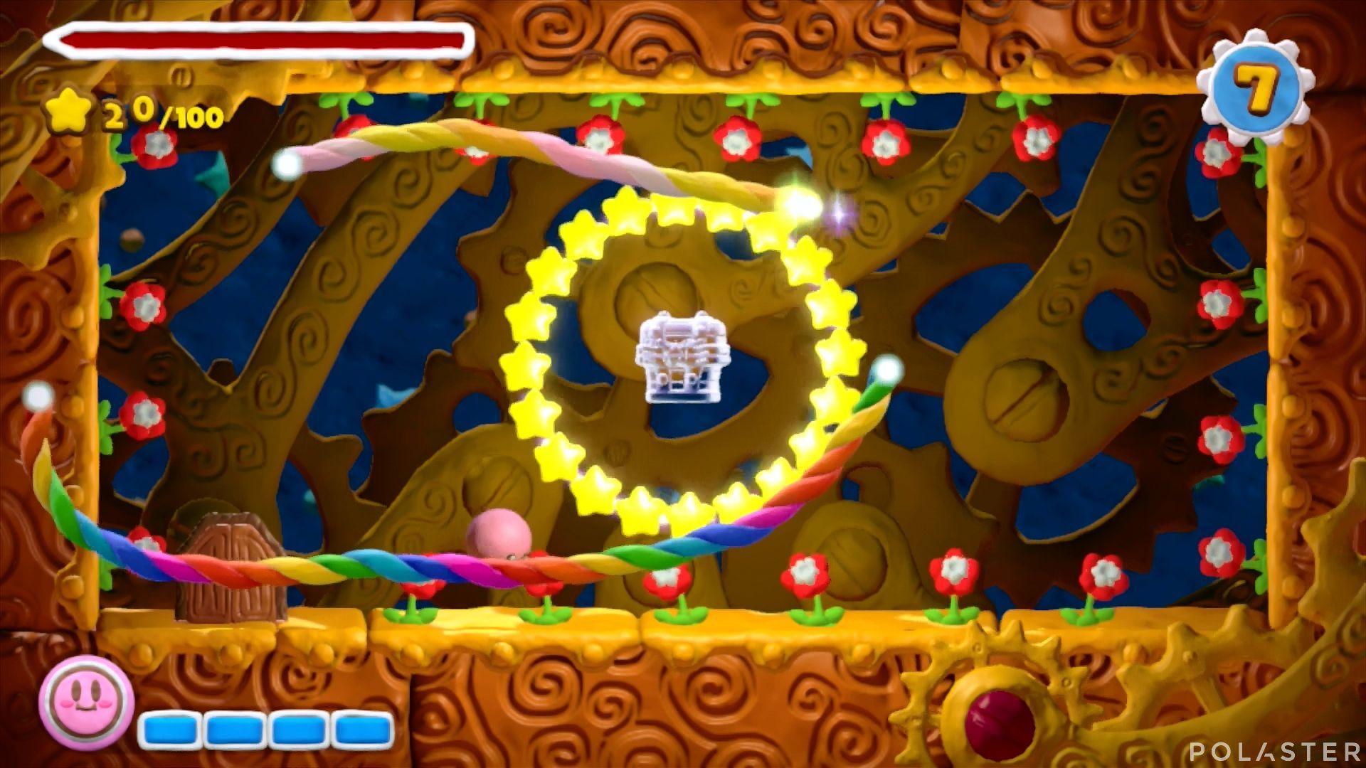 Kirby y el Pincel Arcoíris - Desafío 9 Cofre 3