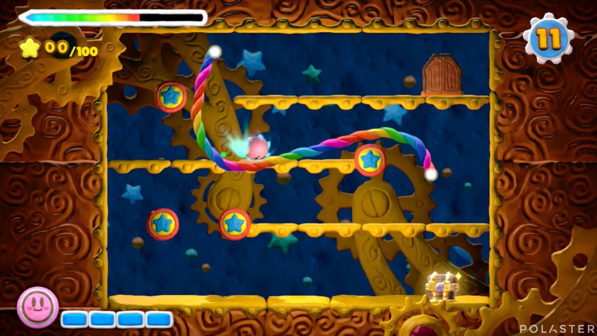 Kirby y el Pincel Arcoíris - Desafío 9 Cofre 4