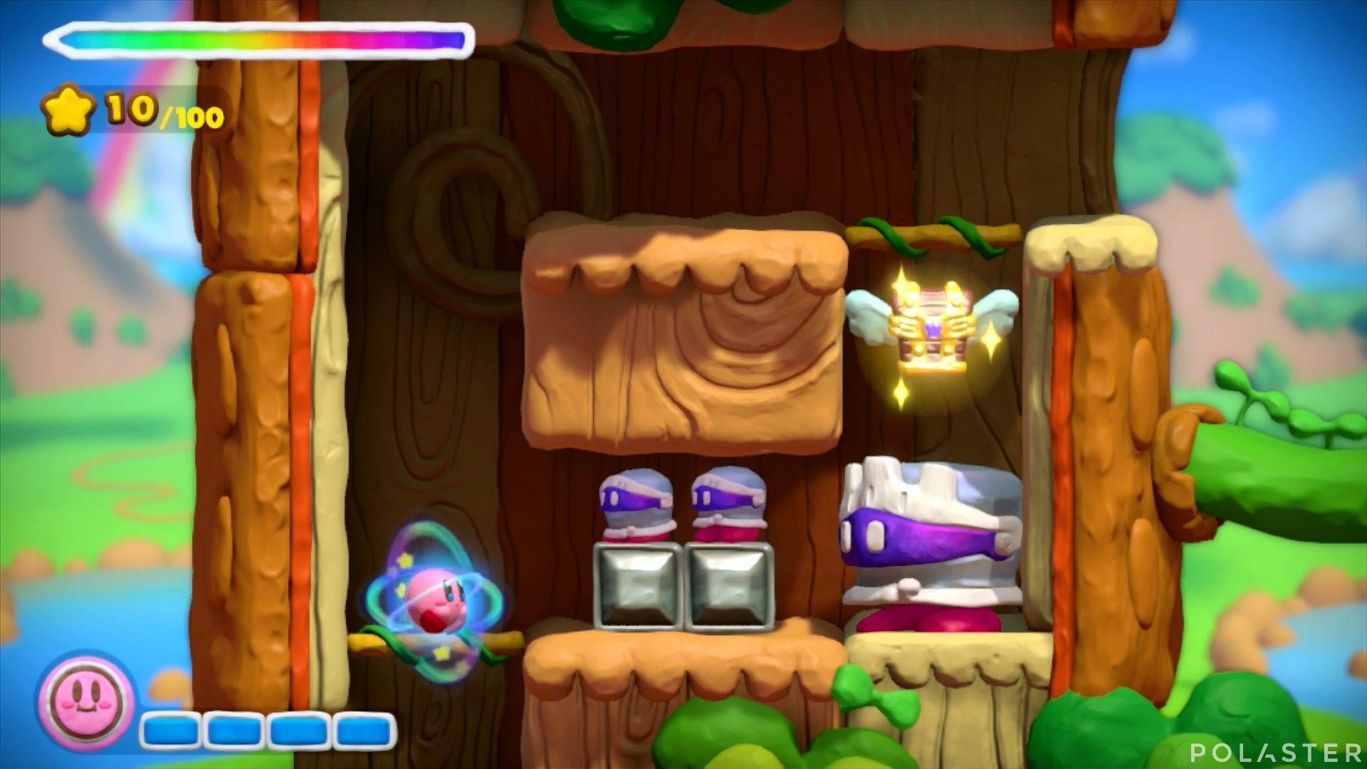 Kirby y el Pincel Arcoíris: Nivel 1-2 Cofre 2