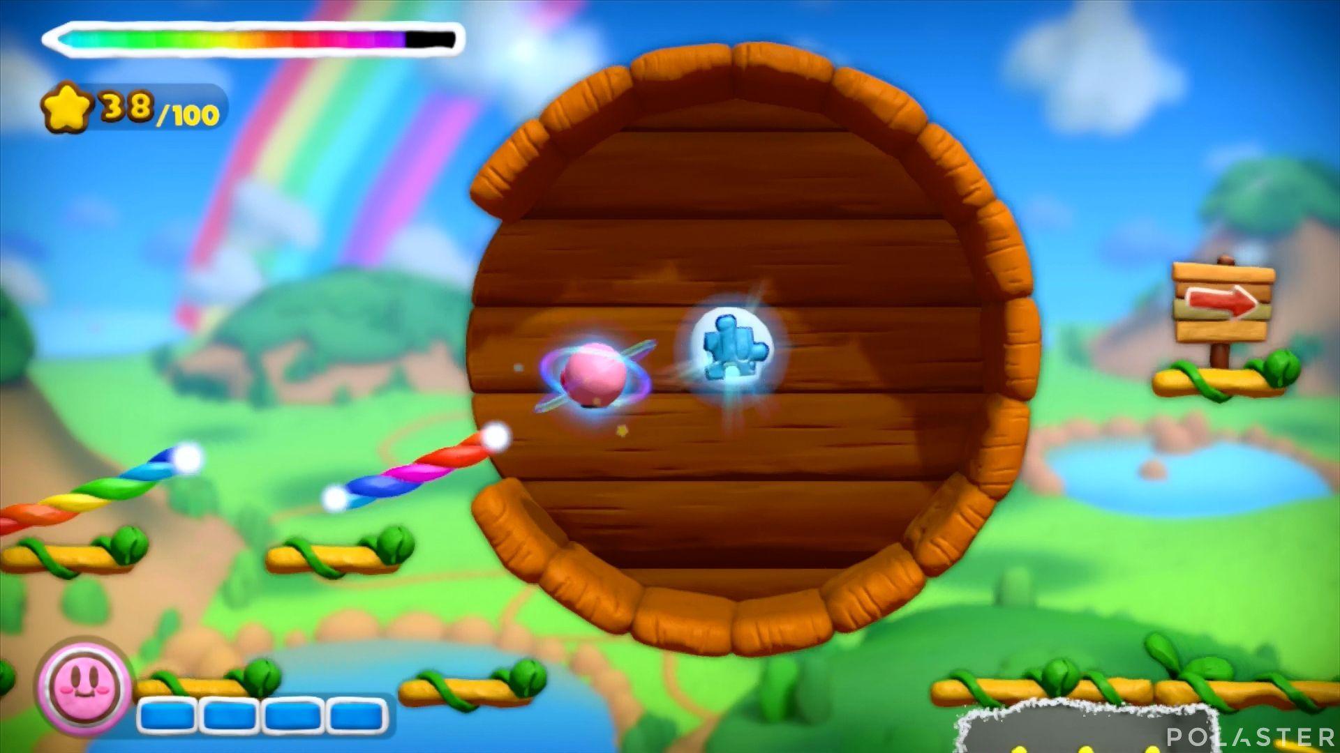 Kirby y el Pincel Arcoíris: Nivel 1-2 Cofre 5