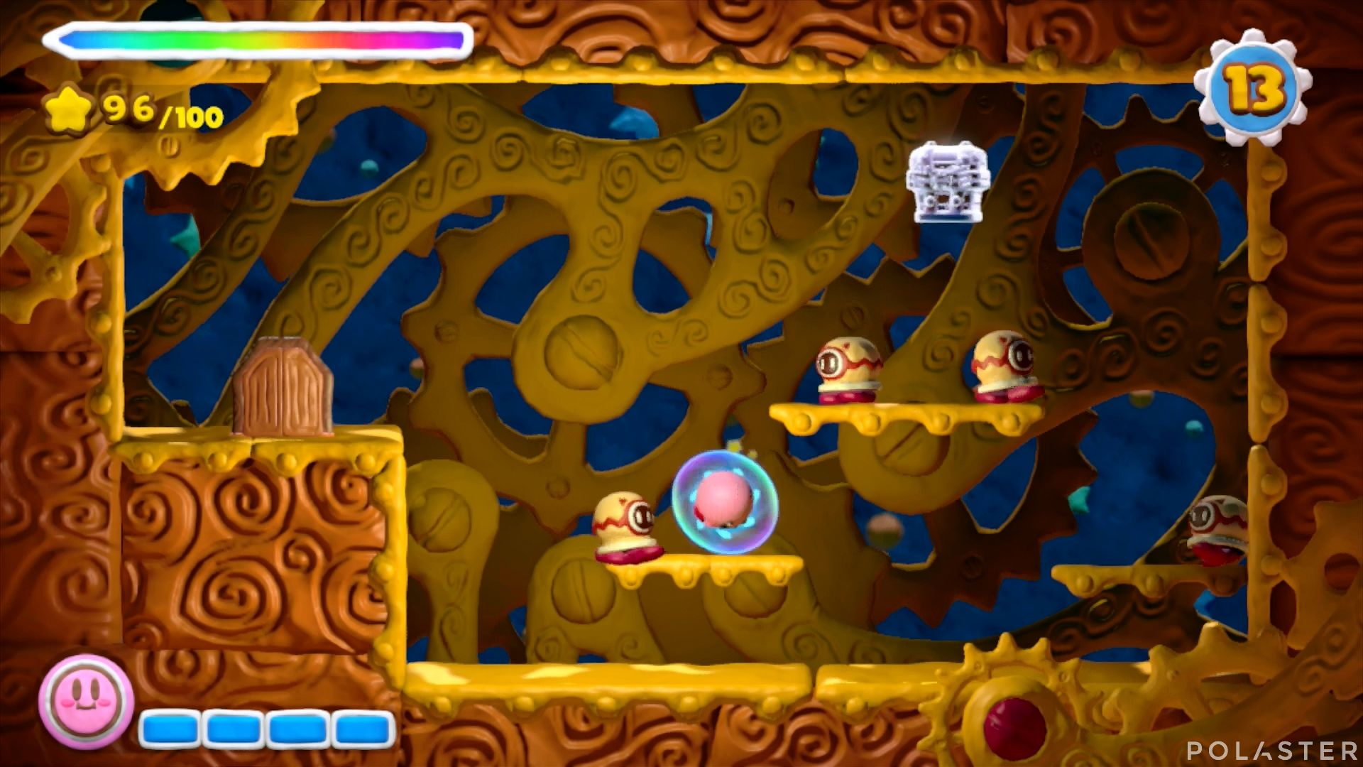Kirby y el Pincel Arcoíris: Nivel 1-3 Cofre 3