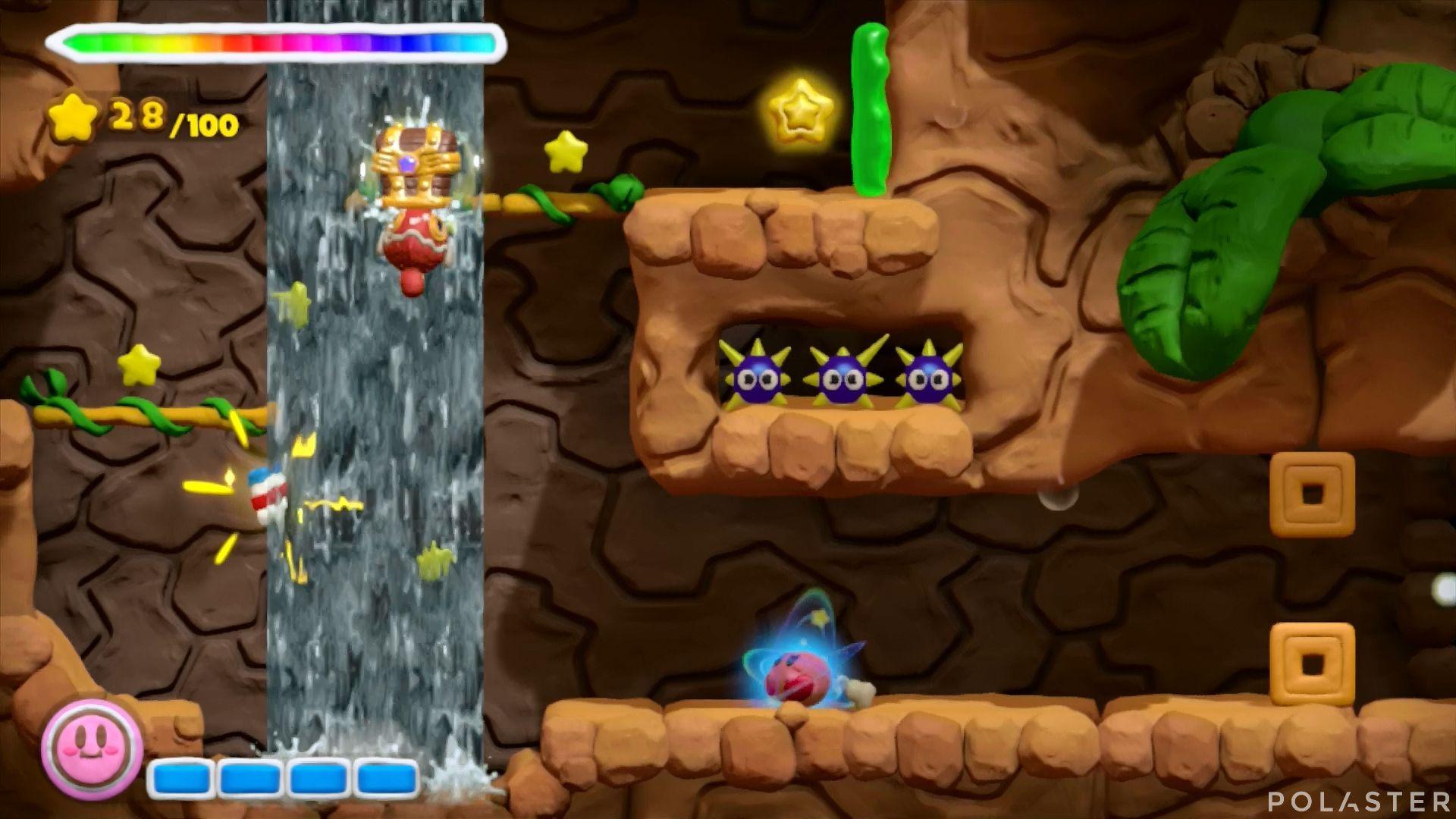 Kirby y el Pincel Arcoíris: Nivel 1-3 Cofre 4