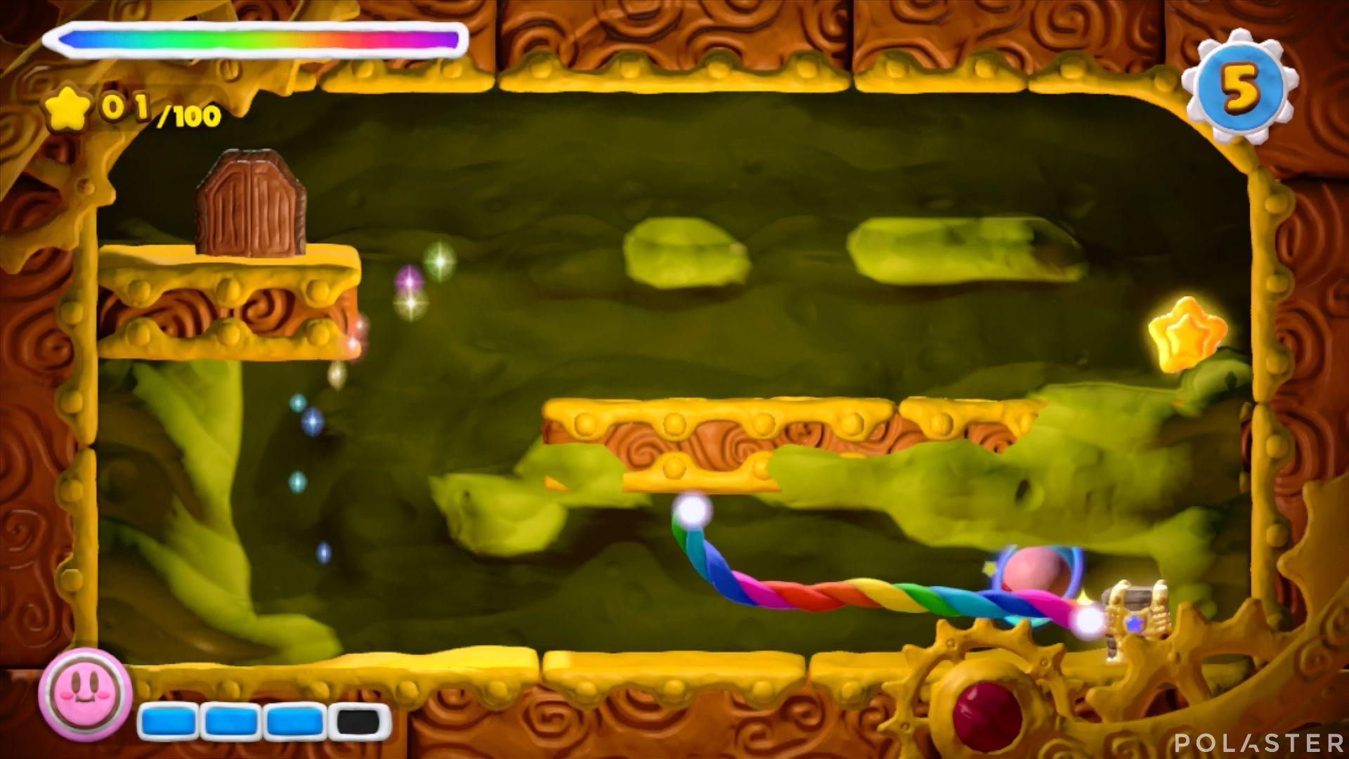 Kirby y el Pincel Arcoíris: Nivel 2-1 Cofre 2