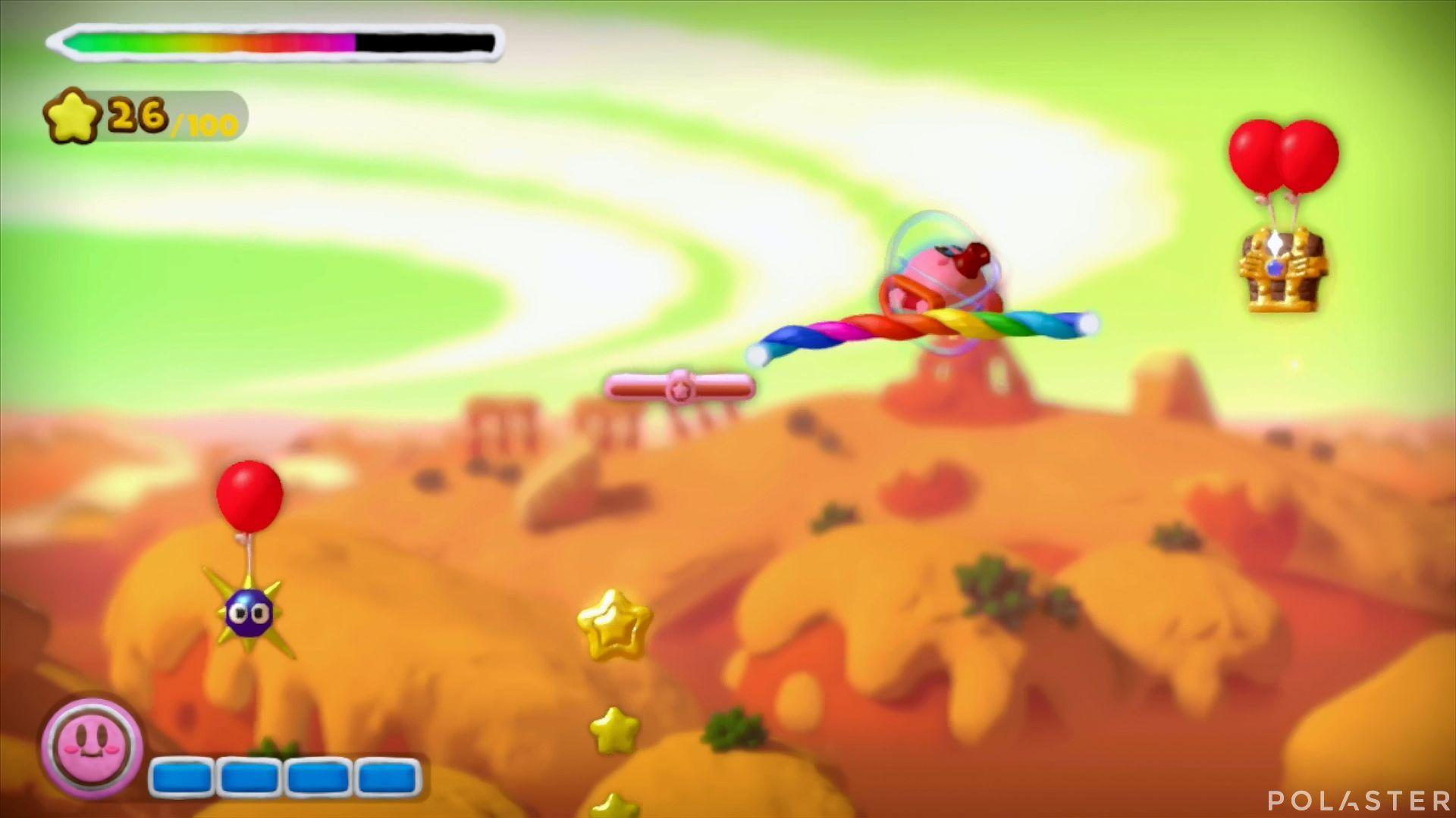 Kirby y el Pincel Arcoíris: Nivel 2-2 Cofre 2