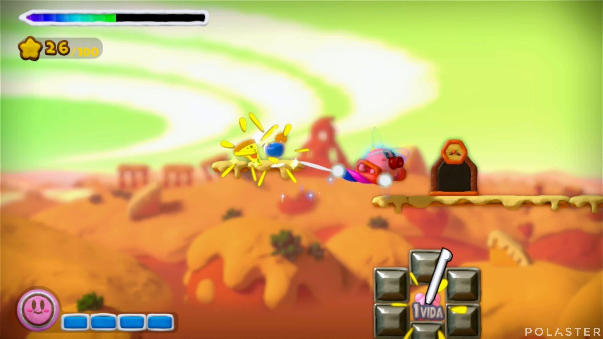Kirby y el Pincel Arcoíris: Nivel 2-2 Cofre 3