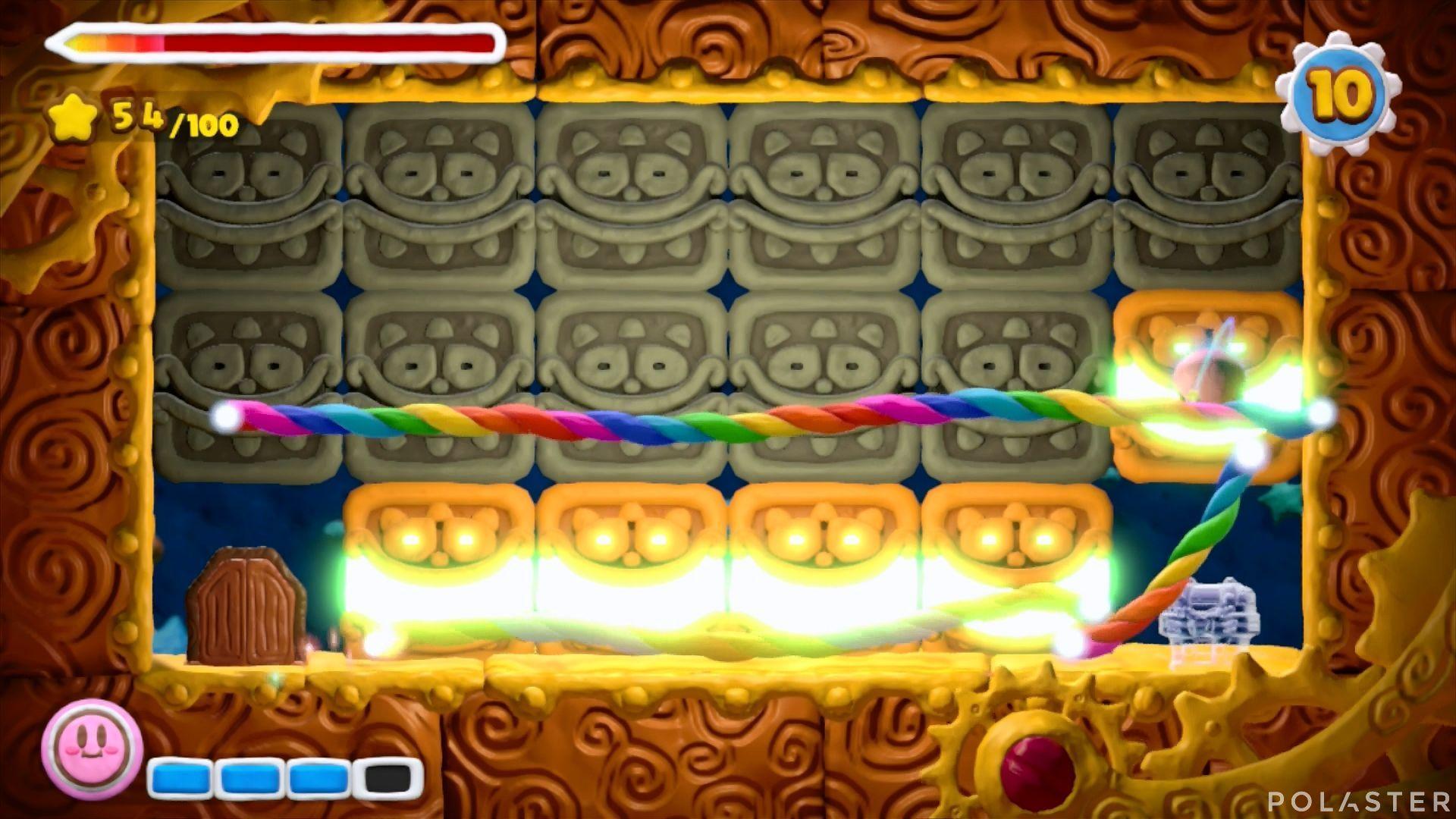 Kirby y el Pincel Arcoíris: Nivel 2-3 Cofre 3