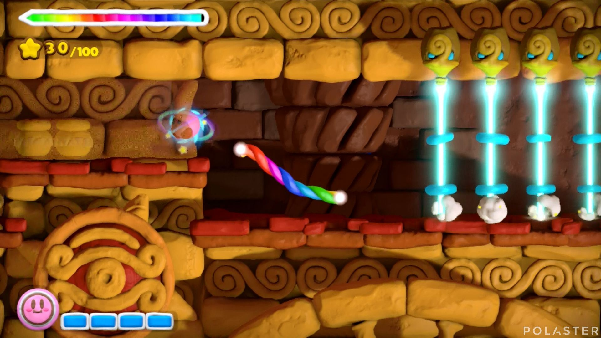 Kirby y el Pincel Arcoíris: Nivel 2-3 Cofre 4
