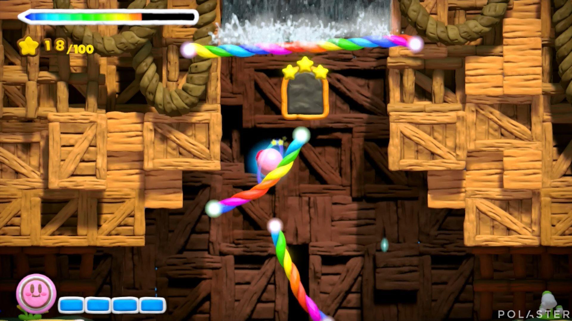 Kirby y el Pincel Arcoíris: Nivel 3-2 Cofre 5