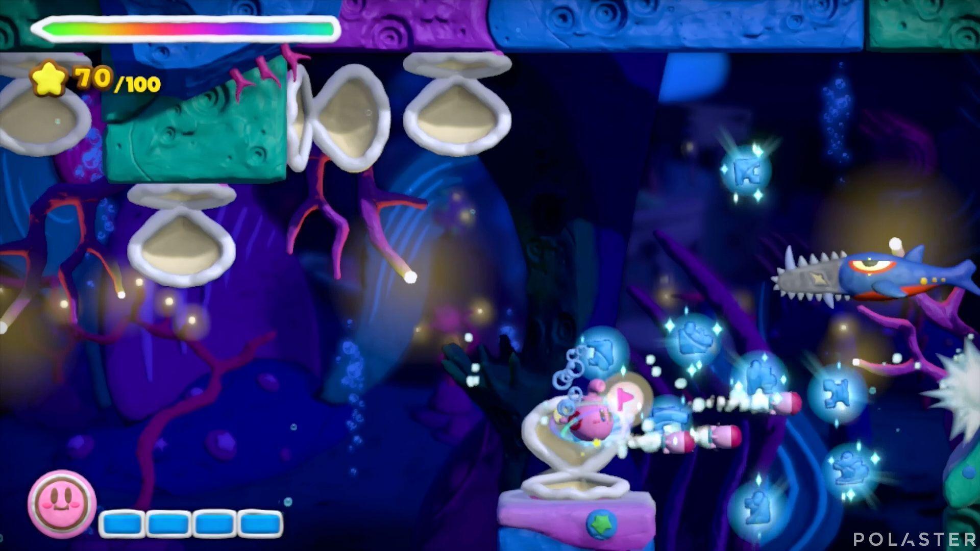 Kirby y el Pincel Arcoíris: Nivel 3-3 Cofre 2