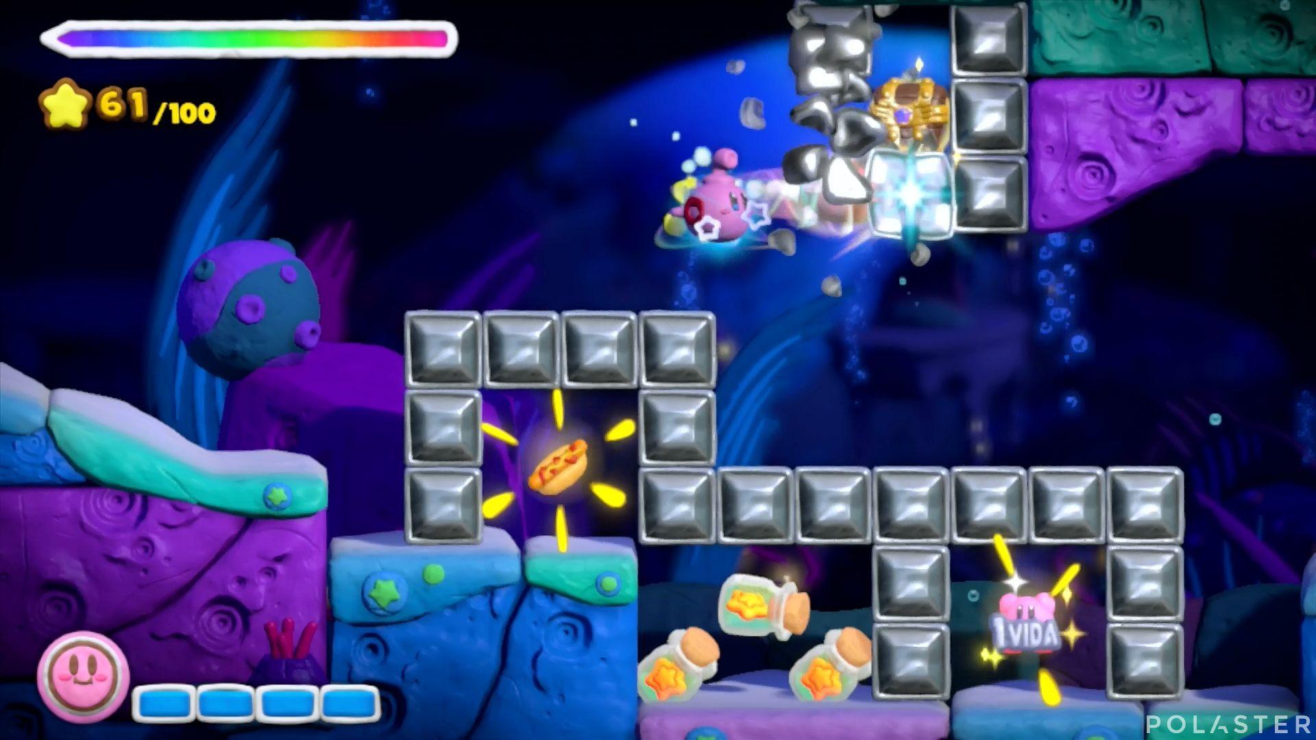 Kirby y el Pincel Arcoíris: Nivel 3-3 Cofre 4
