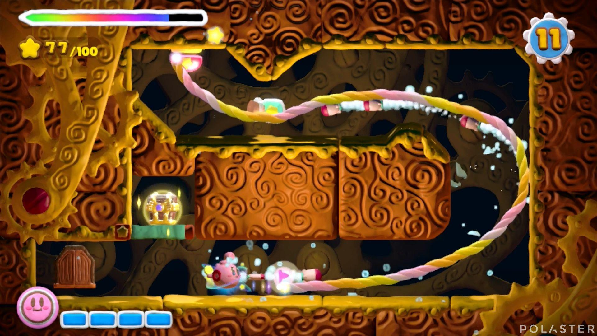 Kirby y el Pincel Arcoíris: Nivel 3-3 Cofre 5