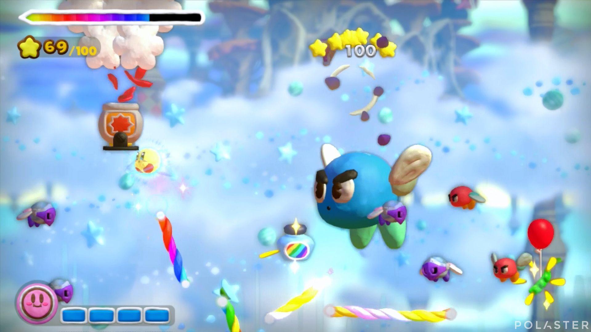 Kirby y el Pincel Arcoíris: Nivel 4-1 Cofre 3