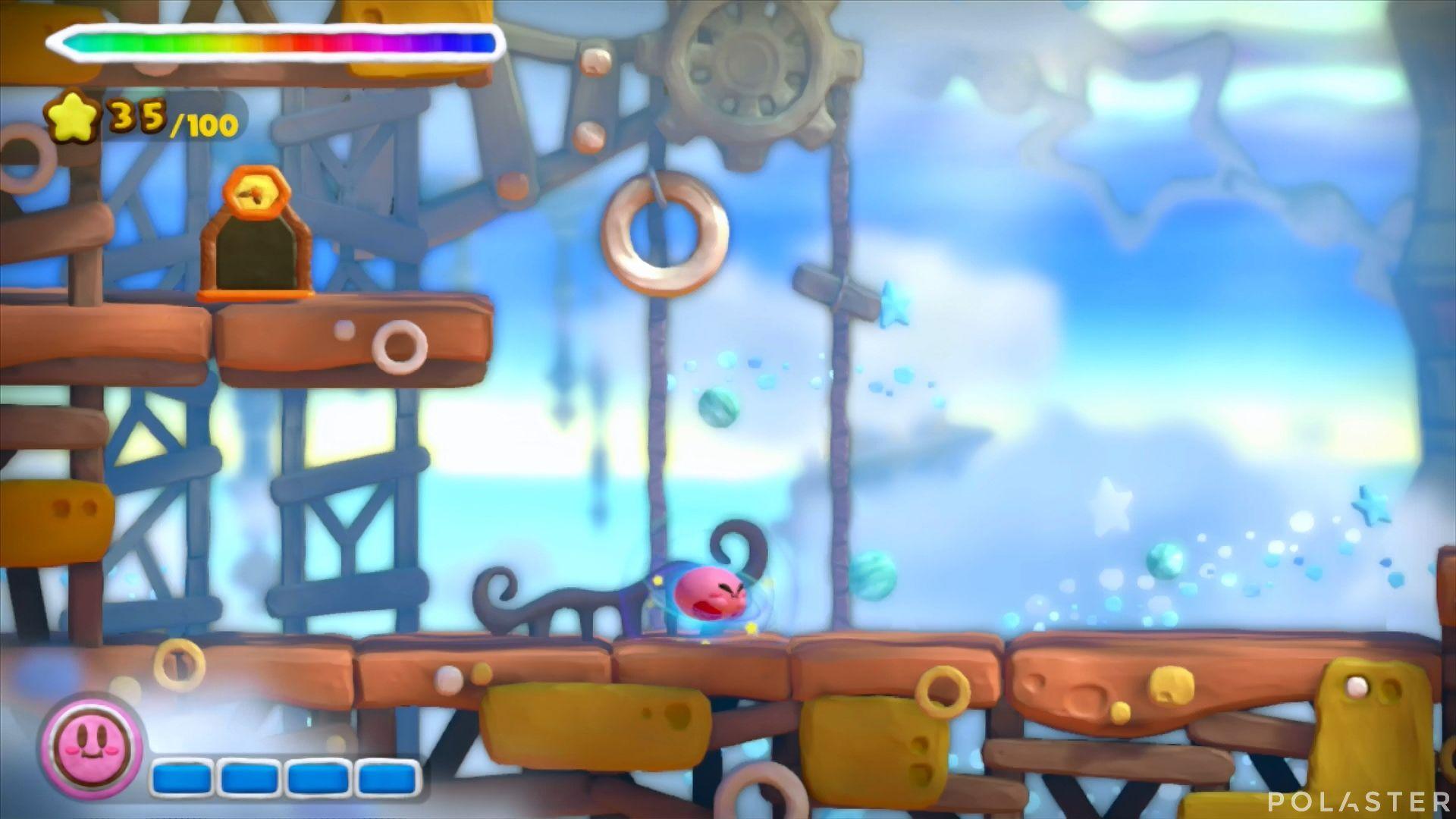 Kirby y el Pincel Arcoíris: Nivel 4-1 Cofre 4