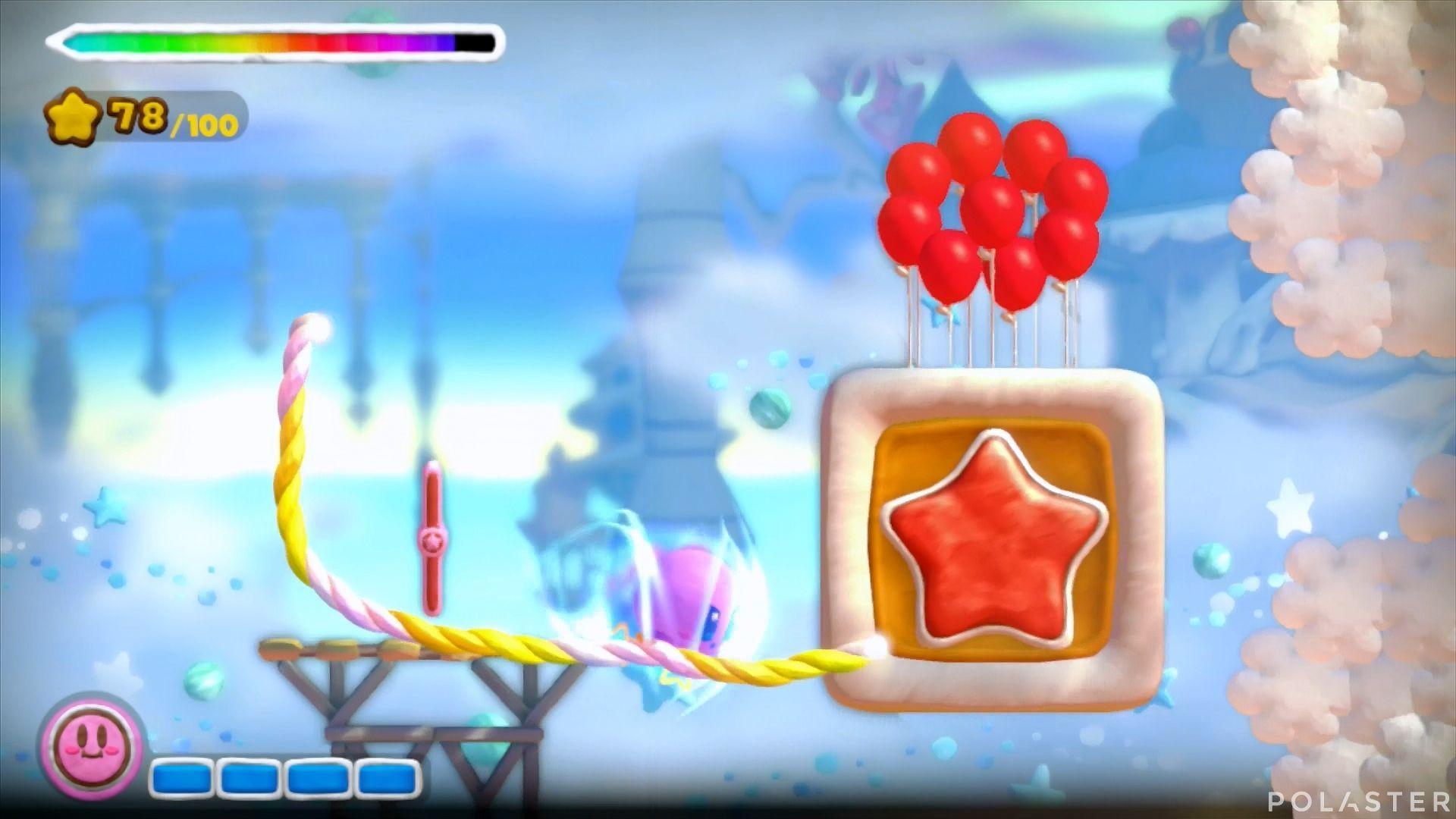 Kirby y el Pincel Arcoíris: Nivel 4-1 Cofre 5