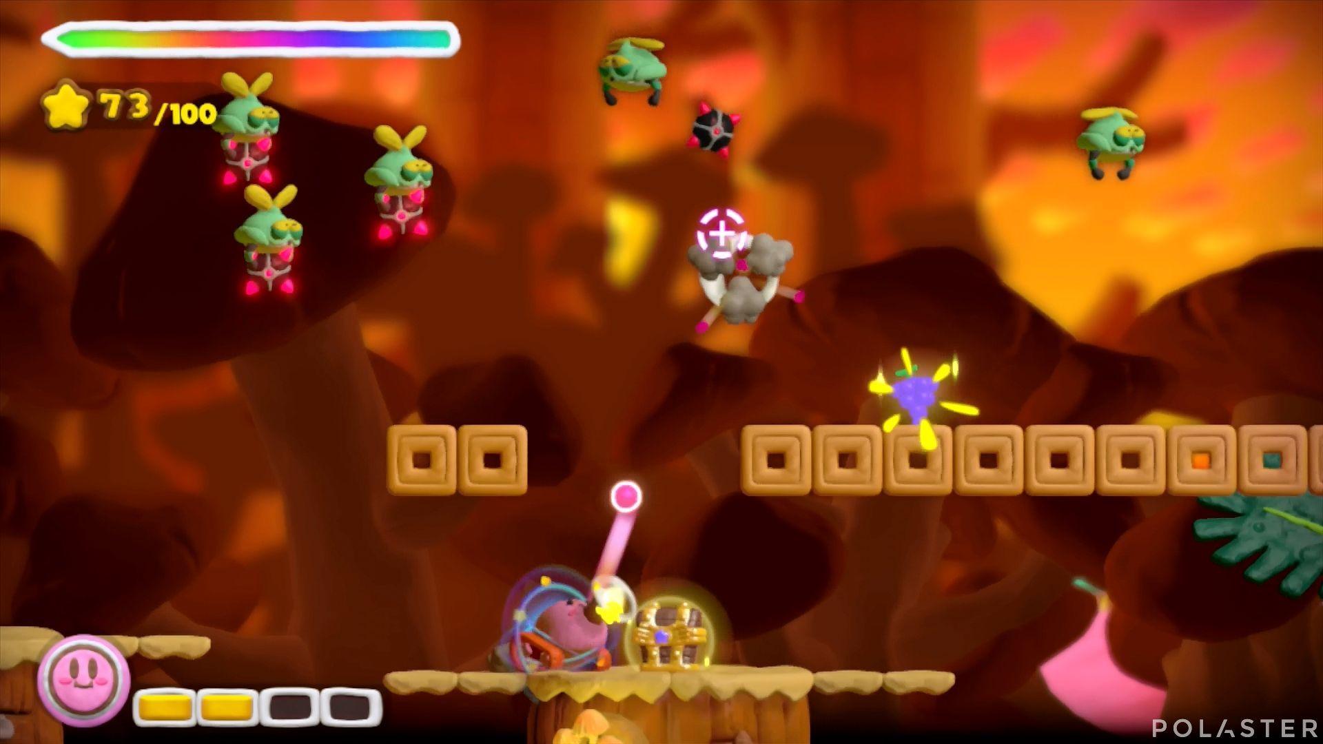 Kirby y el Pincel Arcoíris: Nivel 5-1 Cofre 5