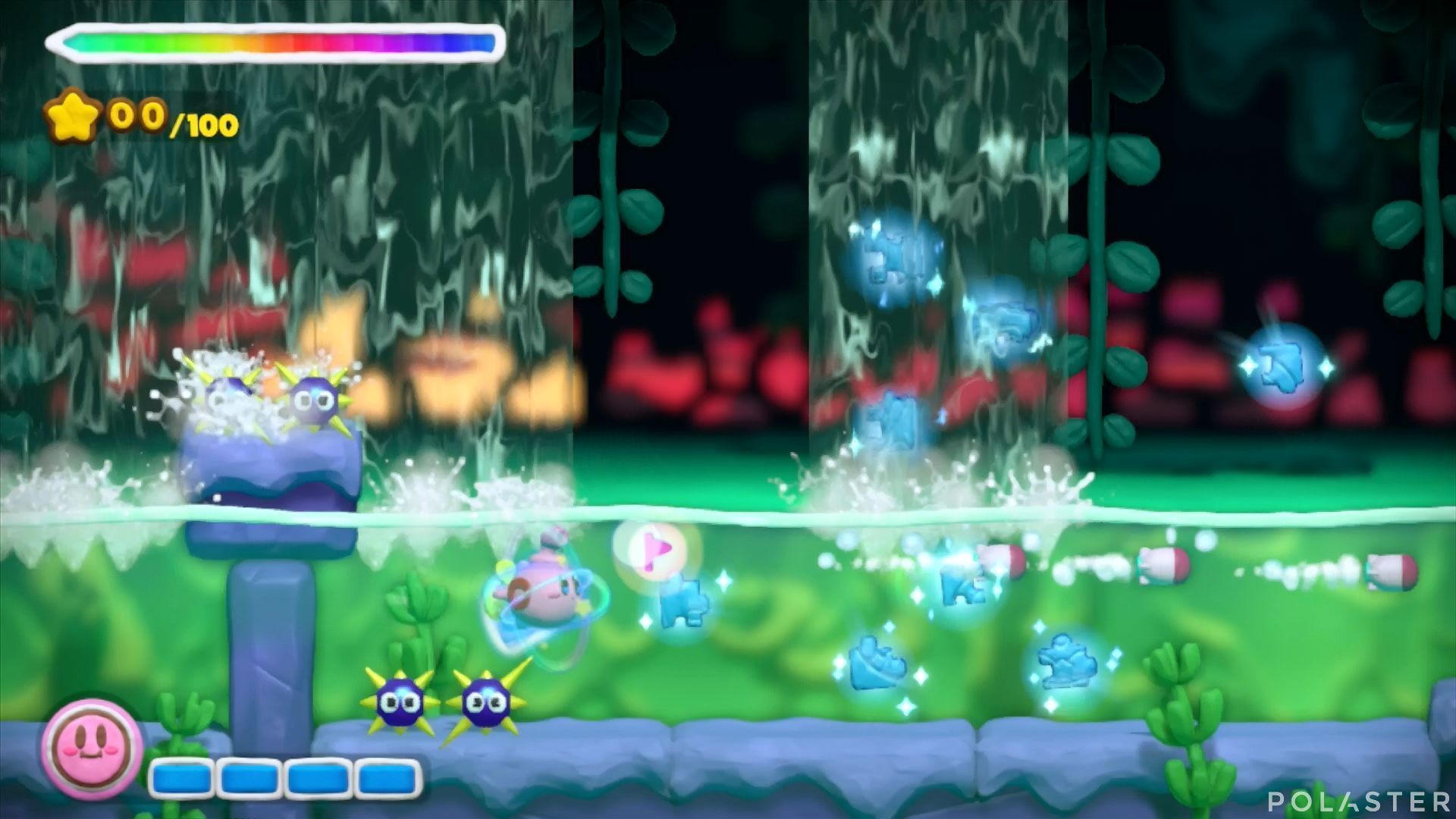 Kirby y el Pincel Arcoíris: Nivel 5-3 Cofre 3