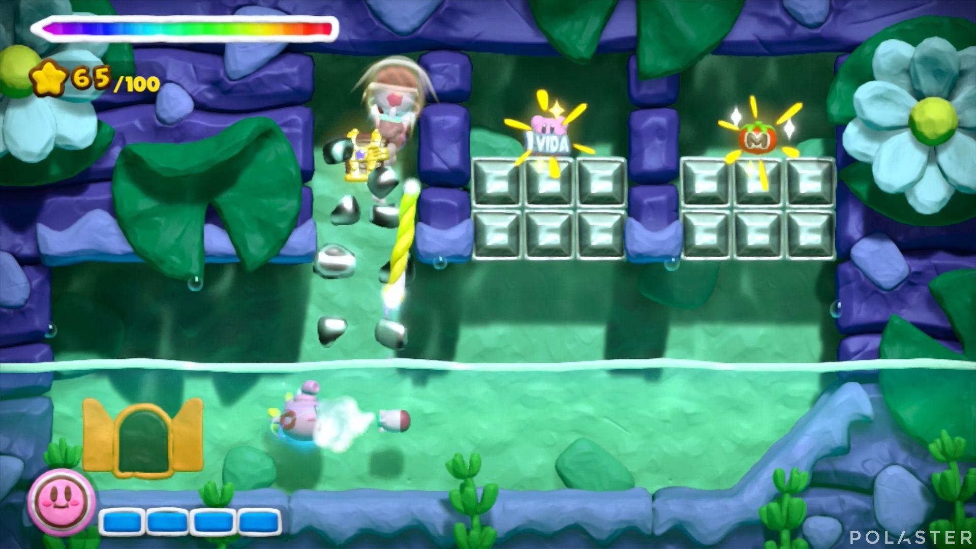 Kirby y el Pincel Arcoíris: Nivel 5-3 Cofre 5