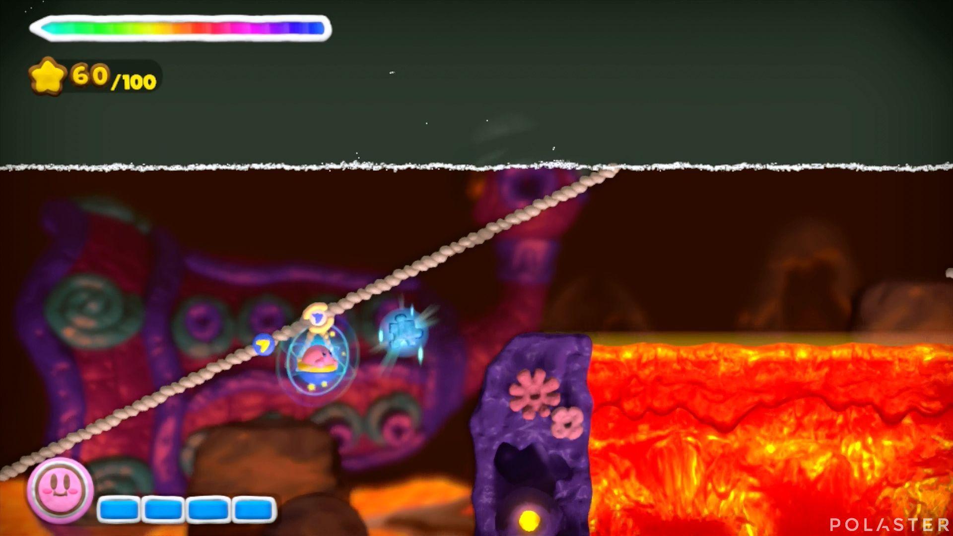 Kirby y el Pincel Arcoíris: Nivel 6-1 Cofre 5