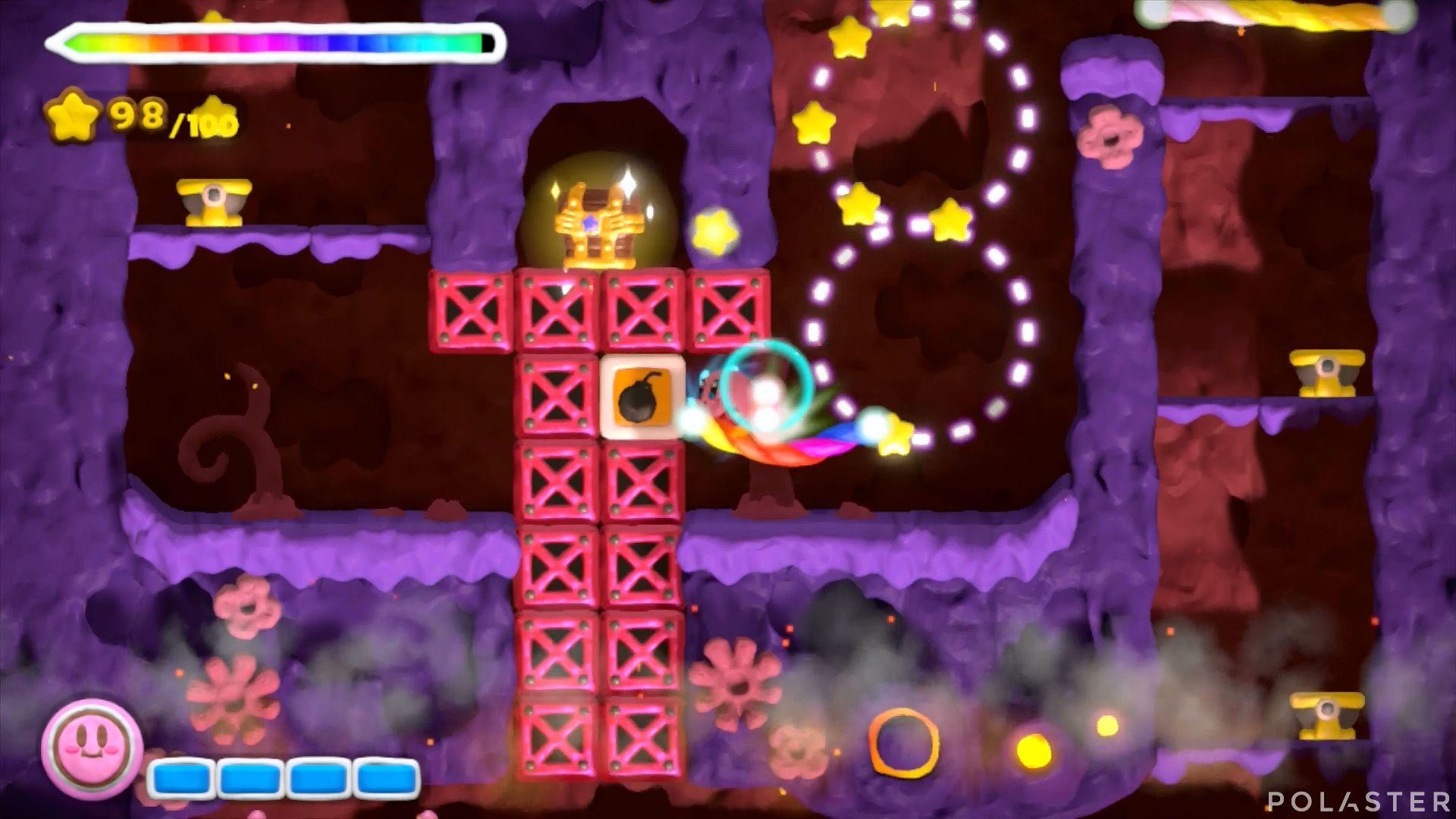 Kirby y el Pincel Arcoíris: Nivel 6-3 Cofre 2