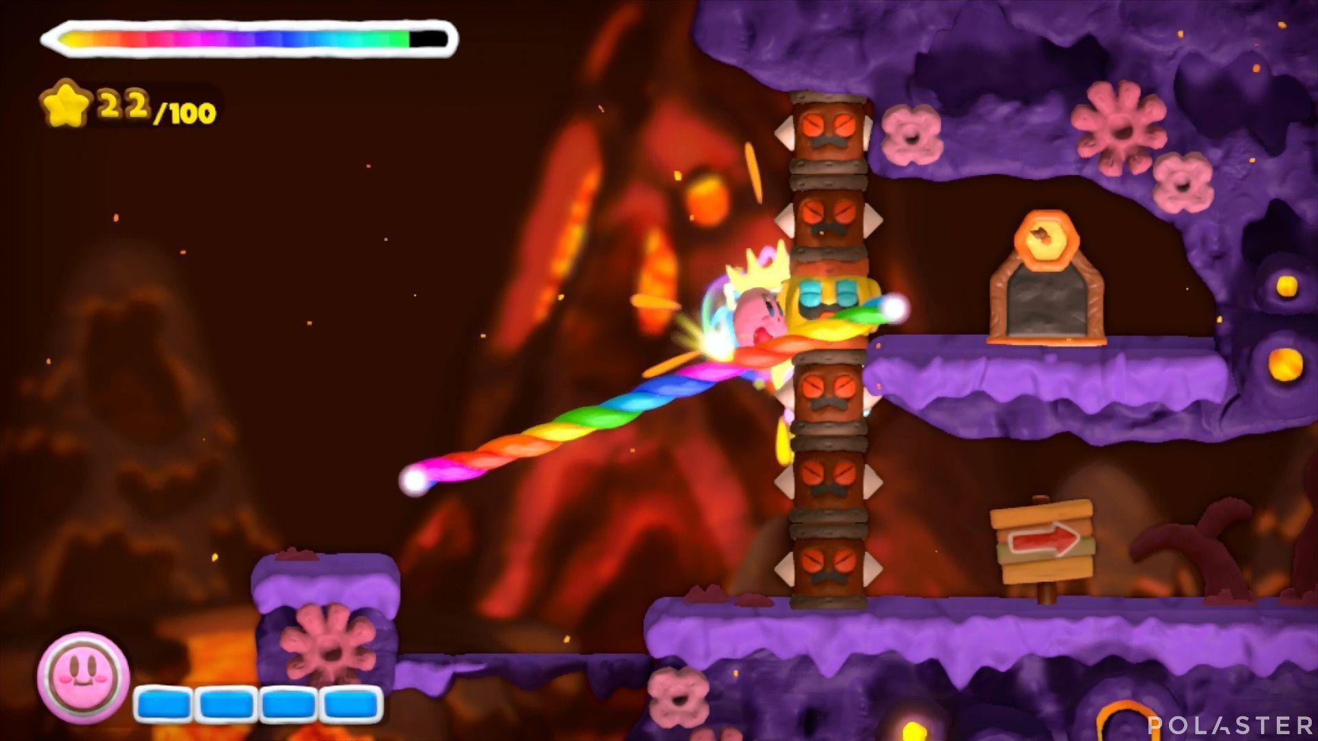 Kirby y el Pincel Arcoíris: Nivel 6-3 Cofre 3