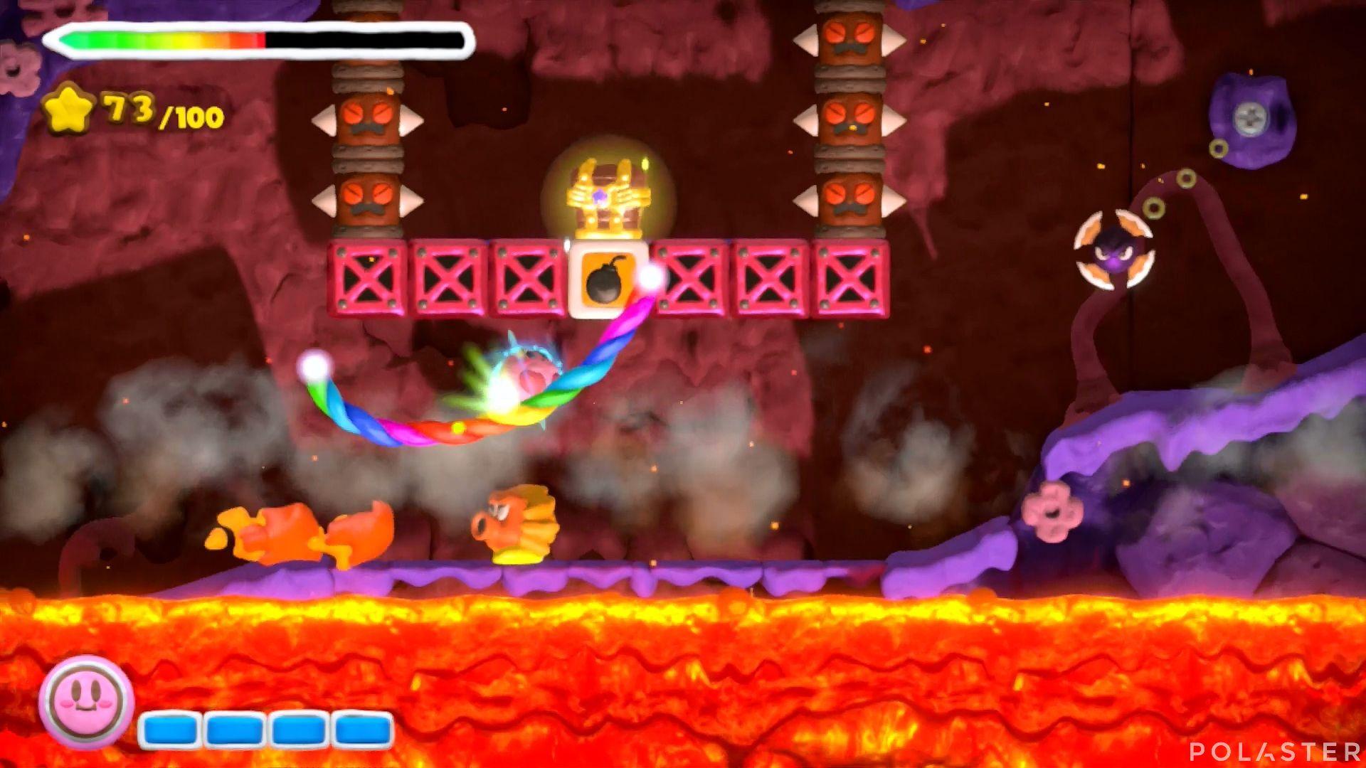 Kirby y el Pincel Arcoíris: Nivel 6-3 Cofre 4