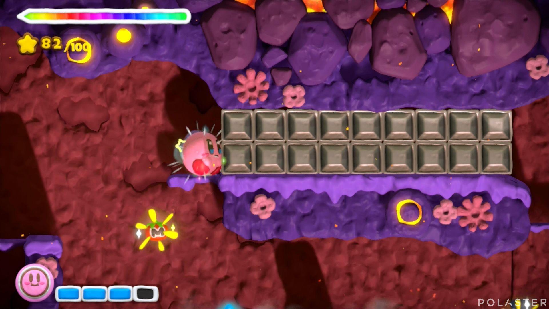 Kirby y el Pincel Arcoíris: Nivel 6-3 Cofre 5