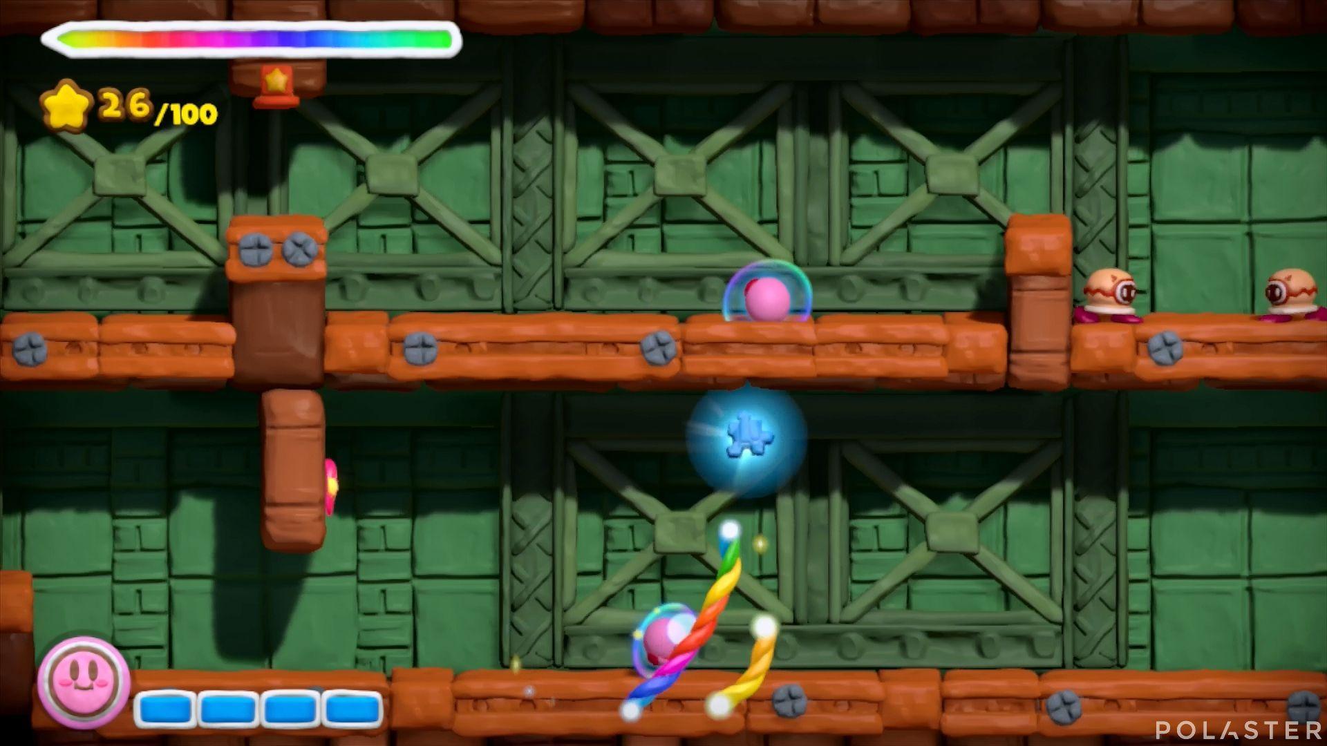 Kirby y el Pincel Arcoíris: Nivel 7-2 Cofre 1